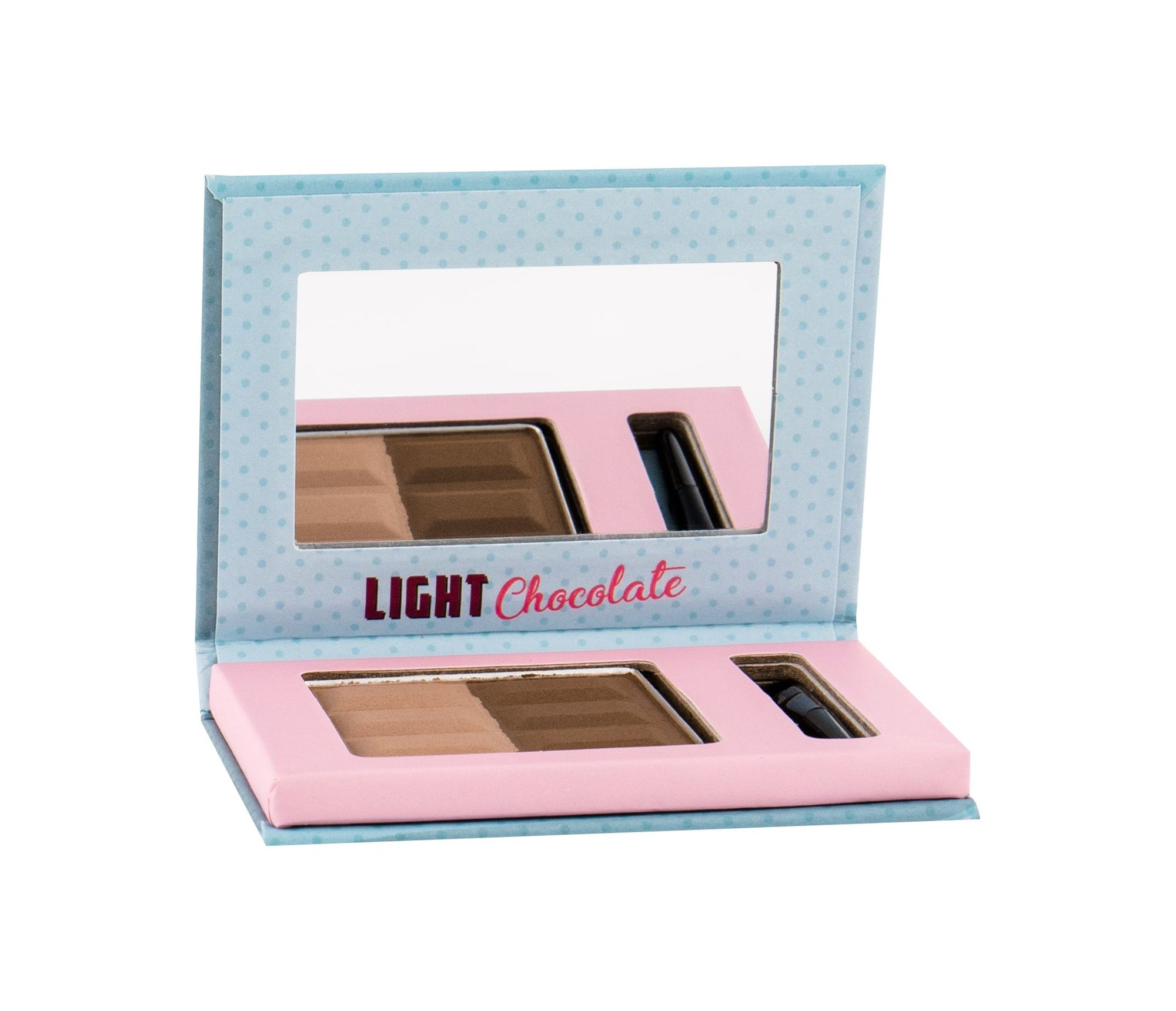 Misslyn Chocolate Brow Duo For Eyebrows 5ml 2 Light Chocolate