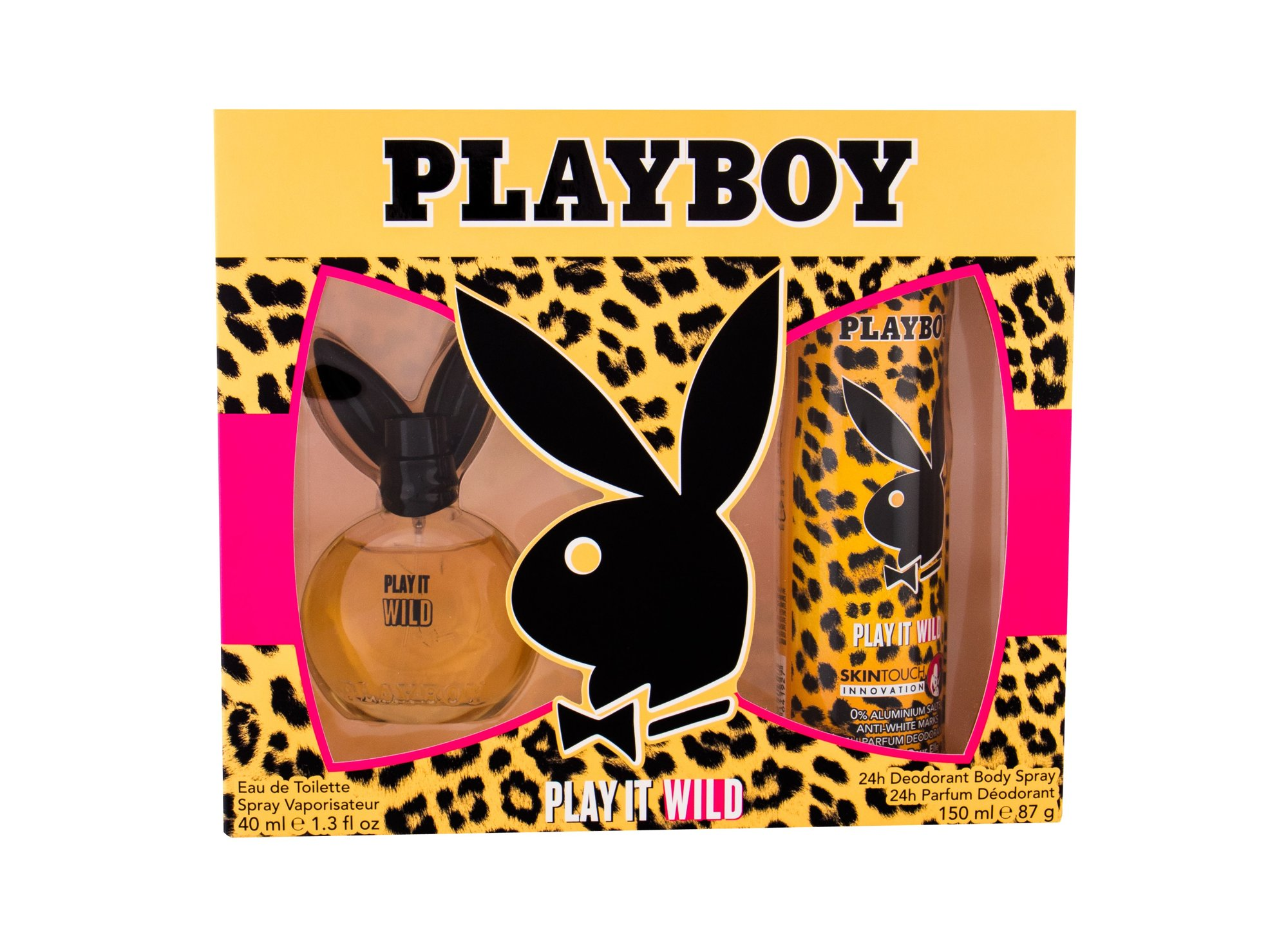 Playboy Play It Wild For Her Eau de Toilette 40ml