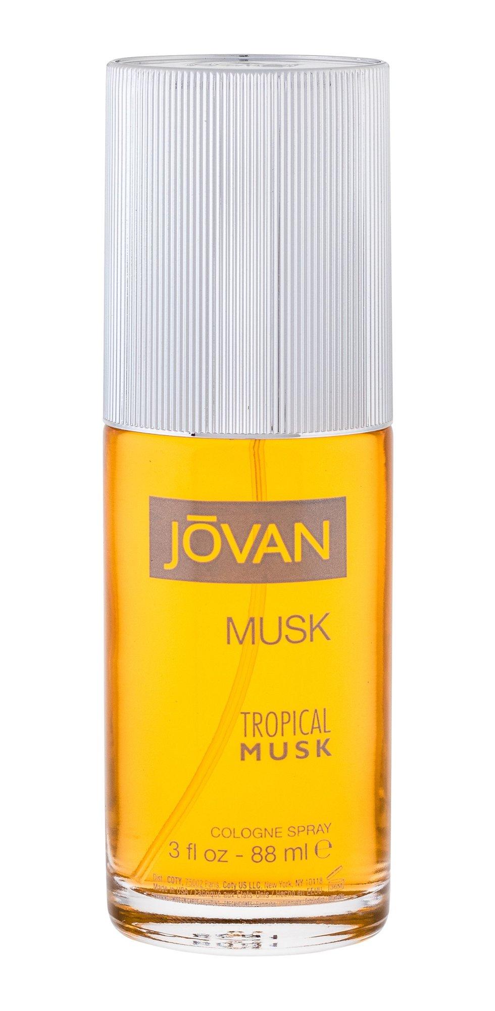 Jovan Tropical Musk Eau de Cologne 88ml
