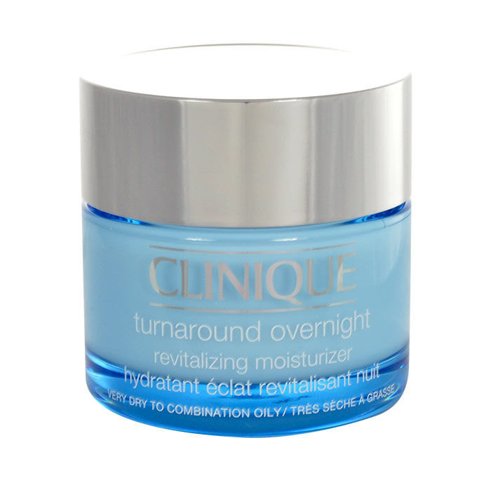 Clinique Turnaround Night Skin Cream 50ml  Overnight Revitalizing Moisturizer