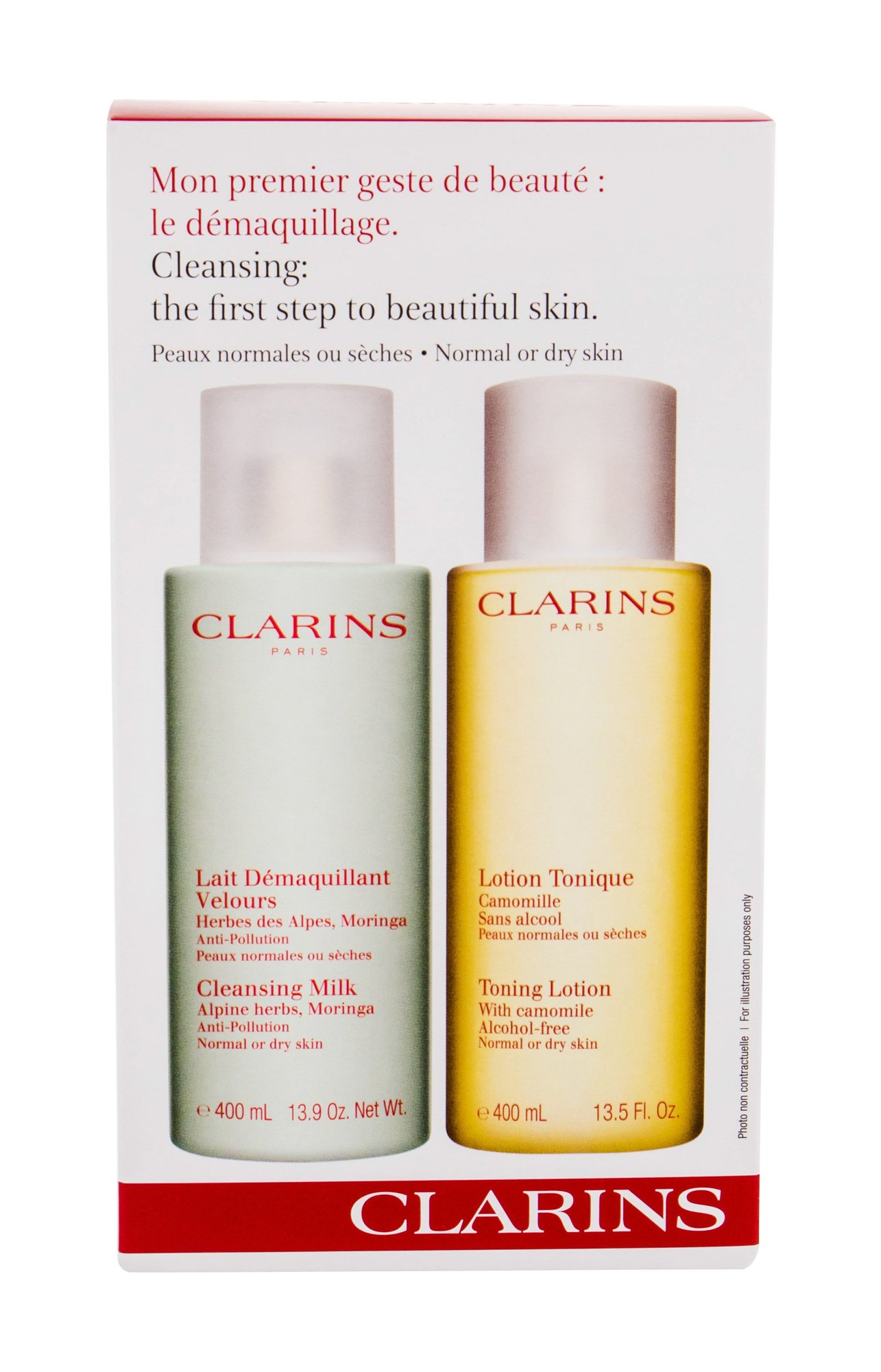 Clarins Cleansing Milk With Alpine Herbs Cleansing Milk 400ml