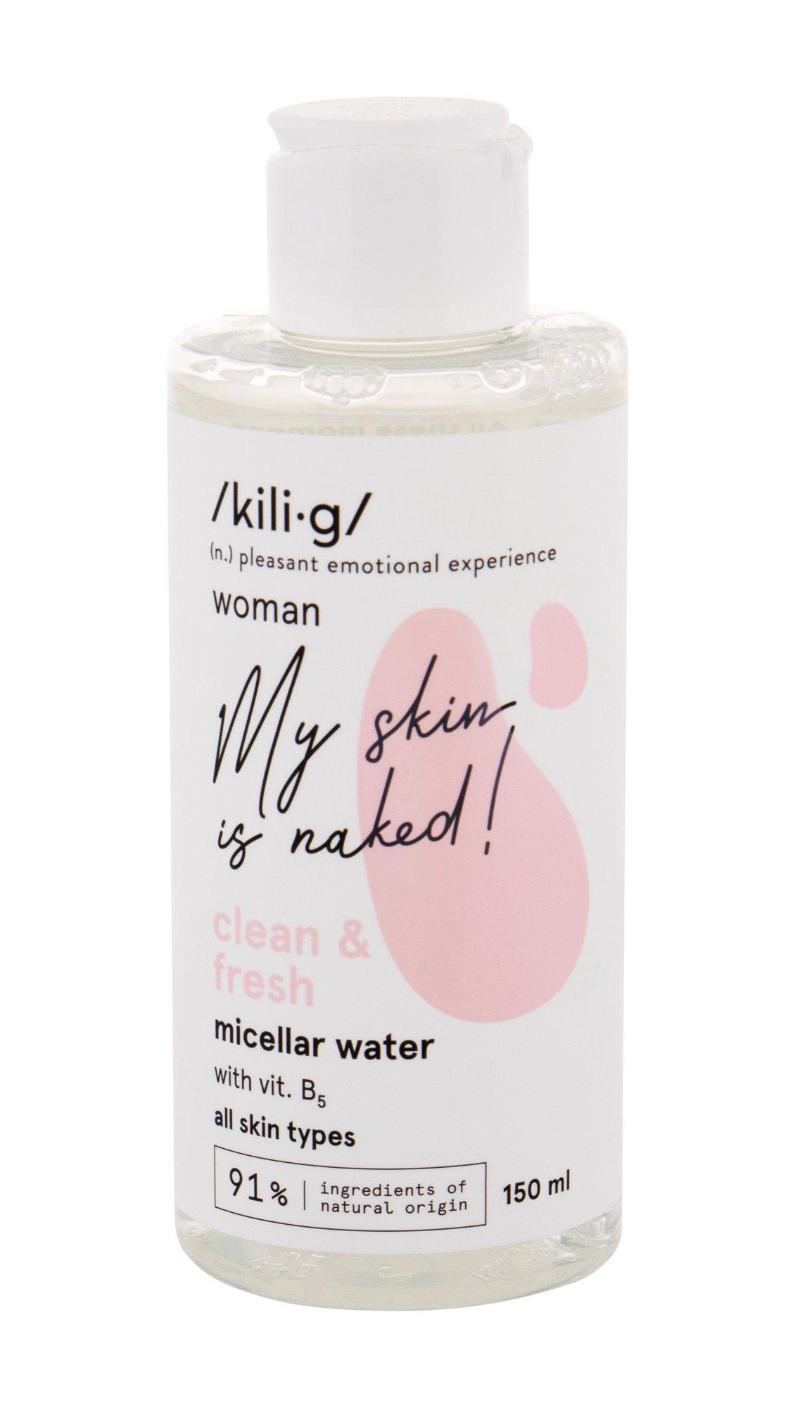 kili·g woman clean & fresh Micellar Water 150ml