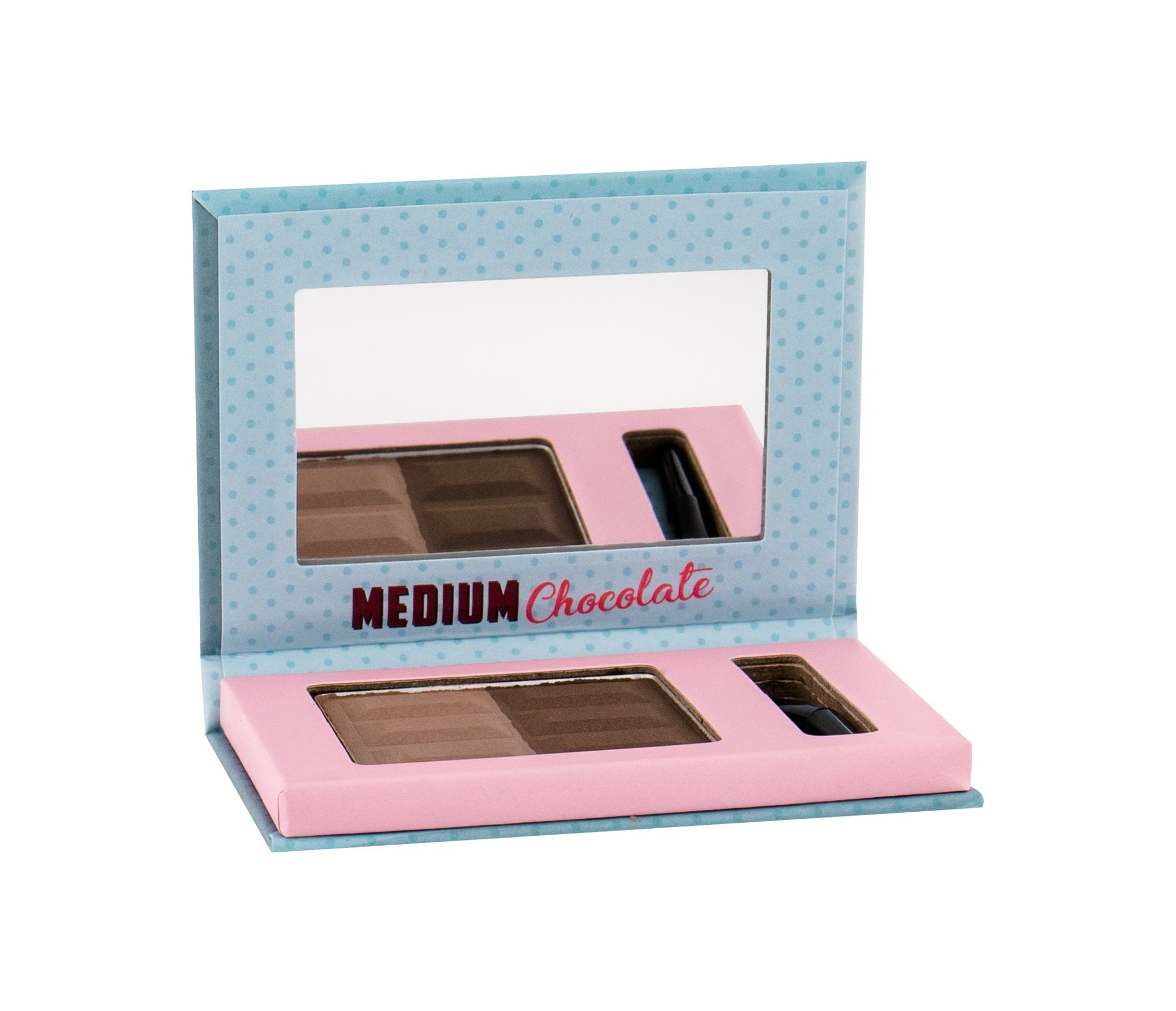 Misslyn Chocolate Brow Duo For Eyebrows 5ml 4 Medium Chocolate