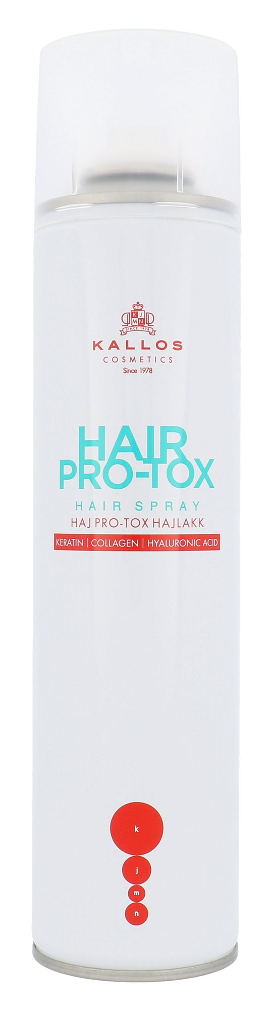 Kallos Cosmetics Hair Pro-Tox Hair Spray 400ml