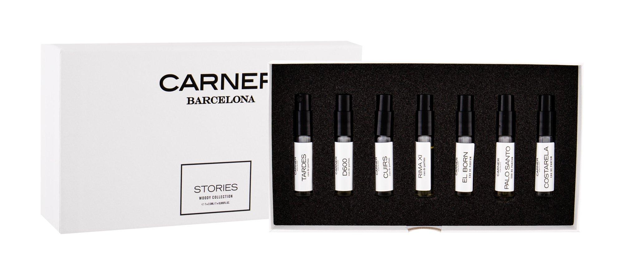 Carner Barcelona Woody Collection Eau de Parfum 7x2,5ml  Stories
