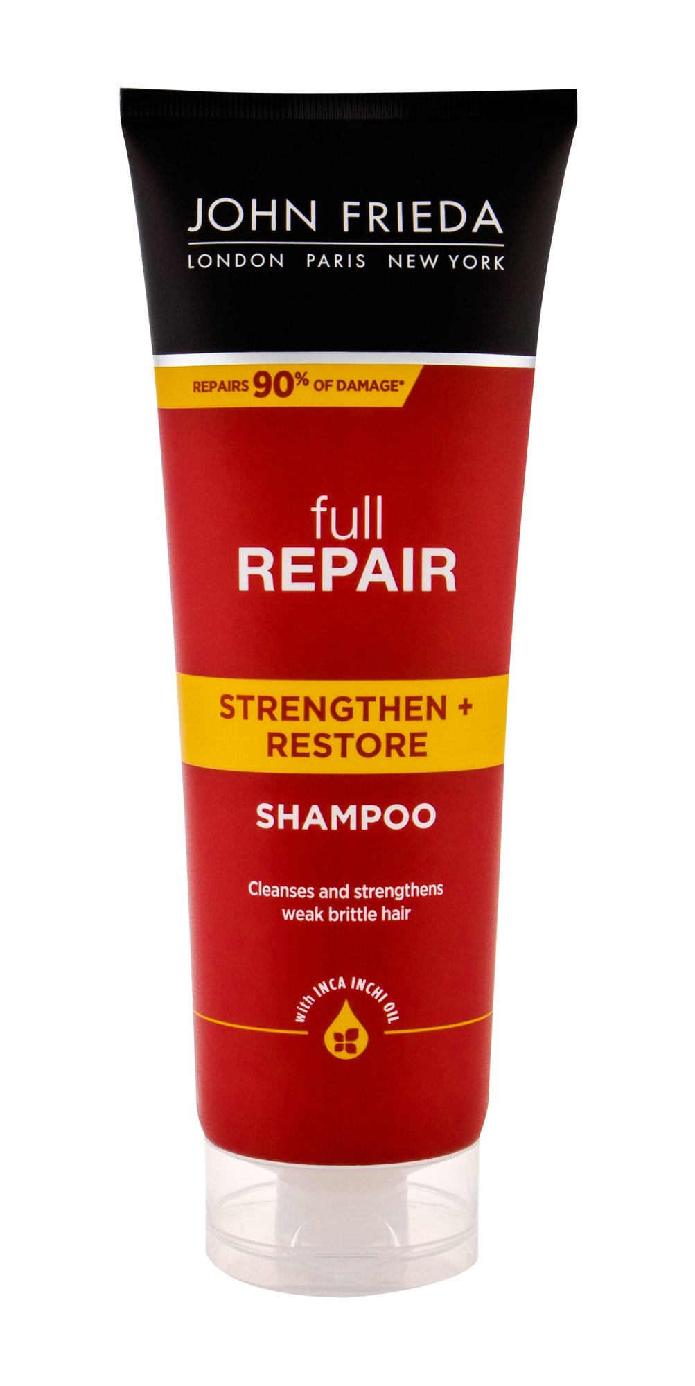 John Frieda Full Repair Shampoo 250ml  Strengthen + Restore