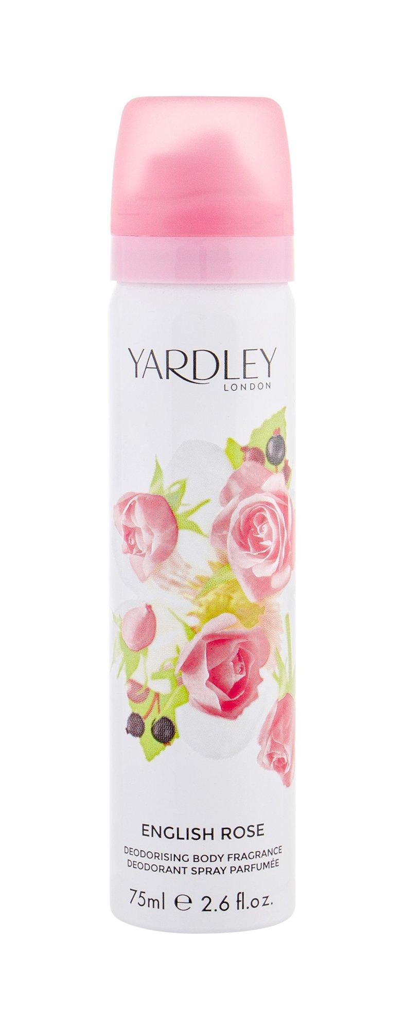 Yardley of London English Rose Deodorant 75ml