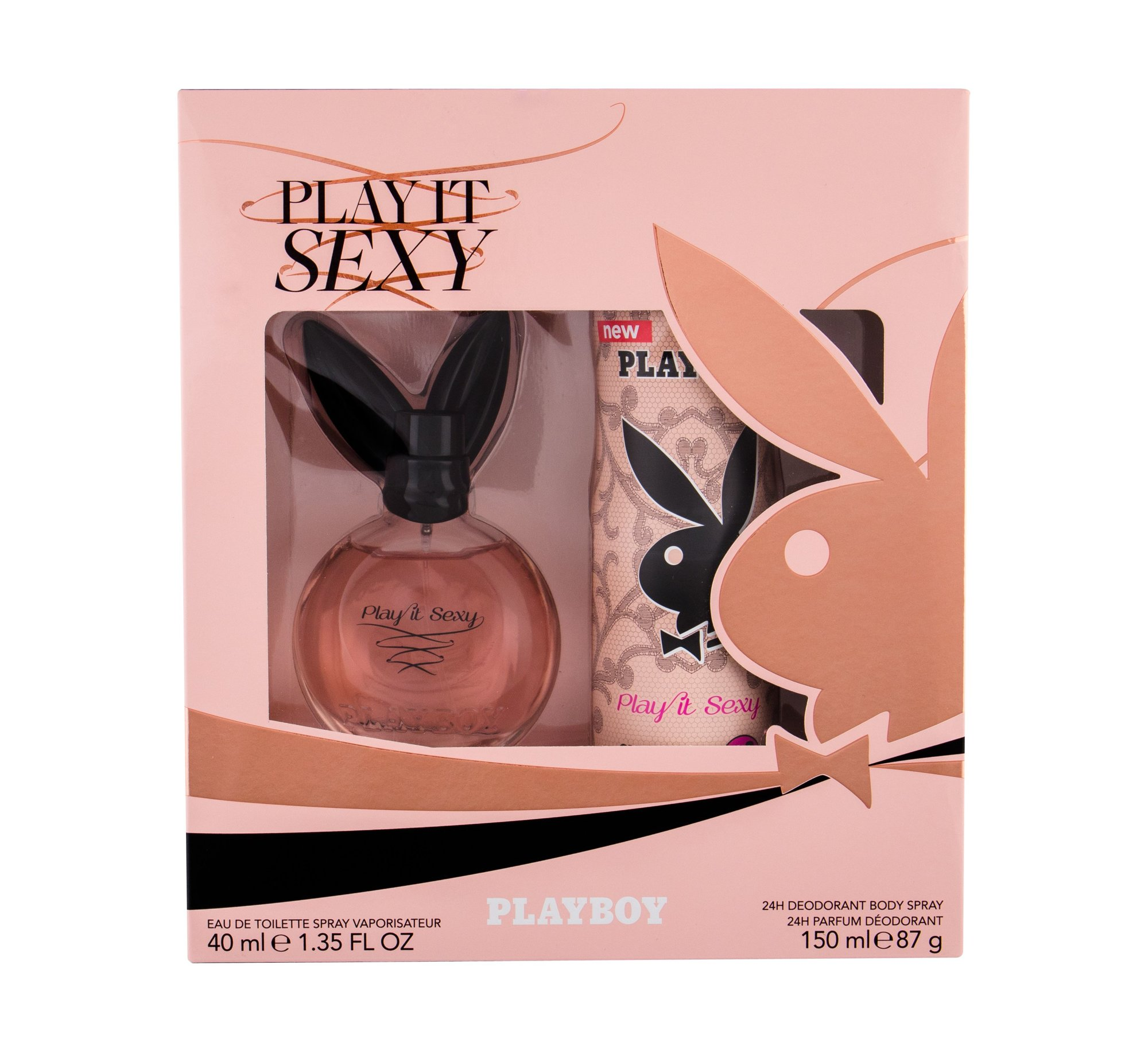 Playboy Play It Sexy For Her Eau de Toilette 40ml