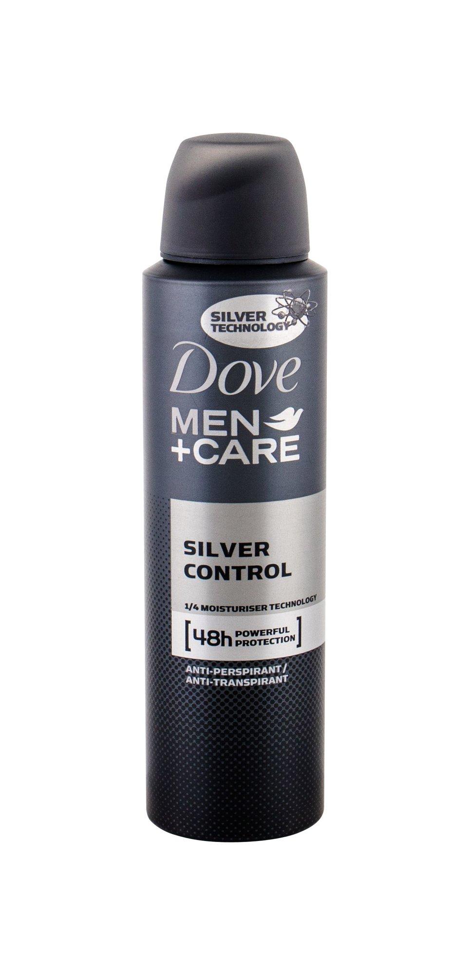 Dove Men + Care Antiperspirant 150ml  Silver Control