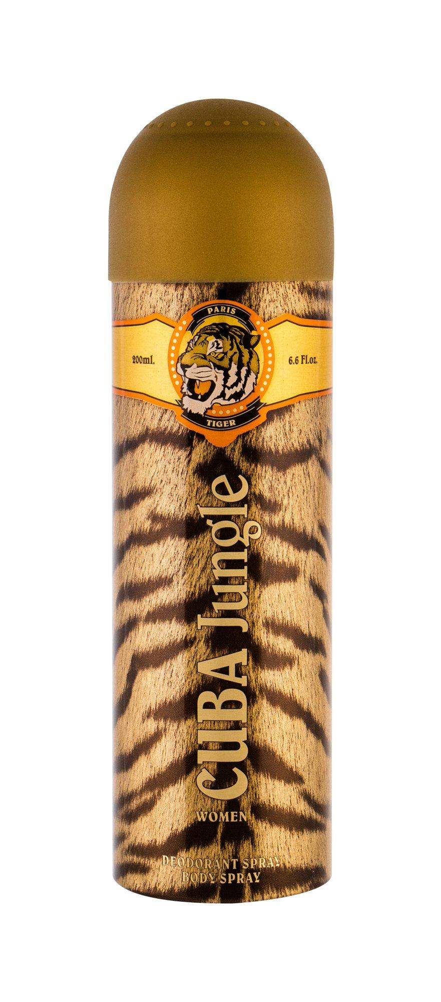 Cuba Tiger Deodorant 200ml