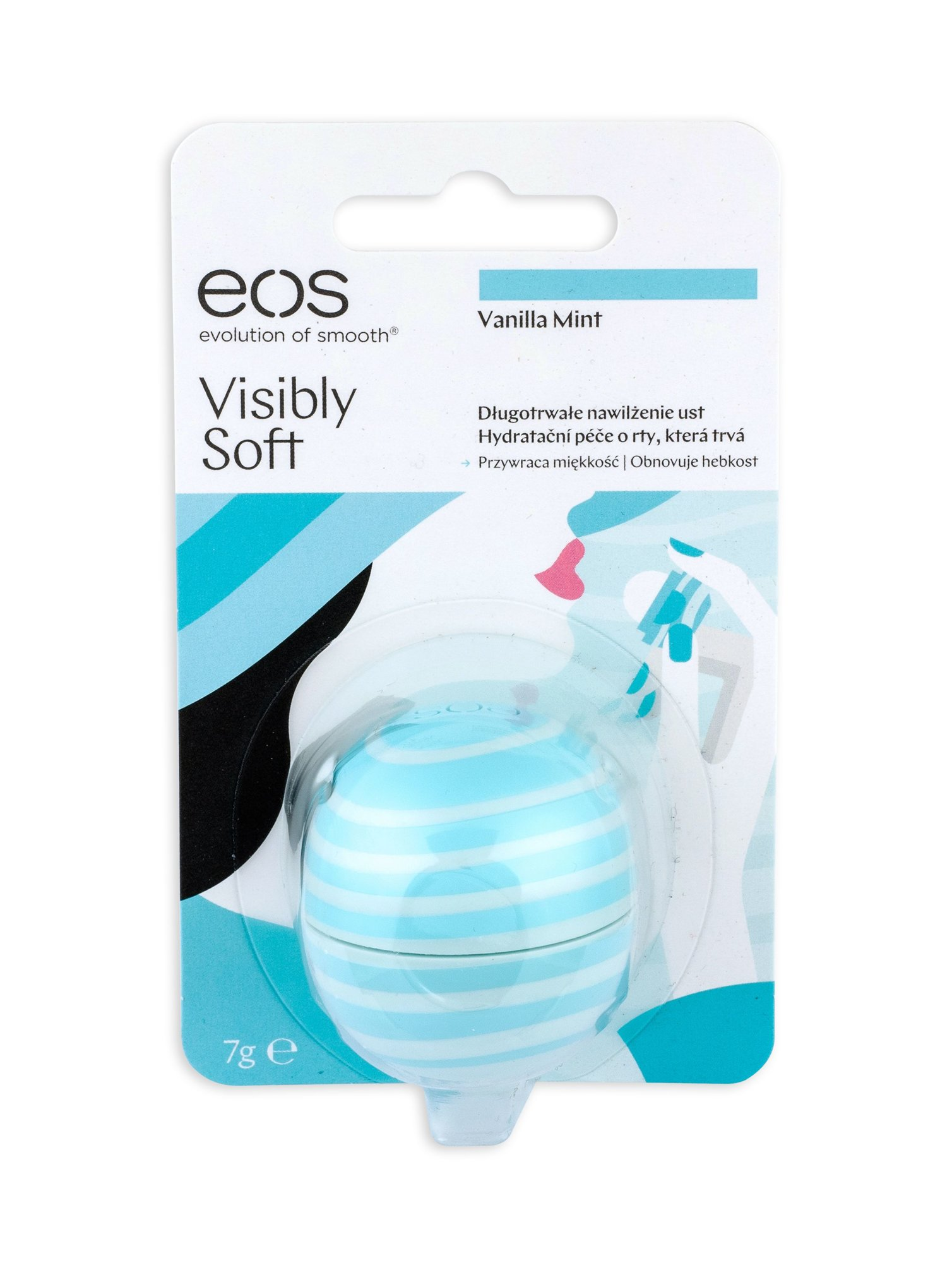 EOS Visibly Soft Lip Balm 7ml Vanilla Mint