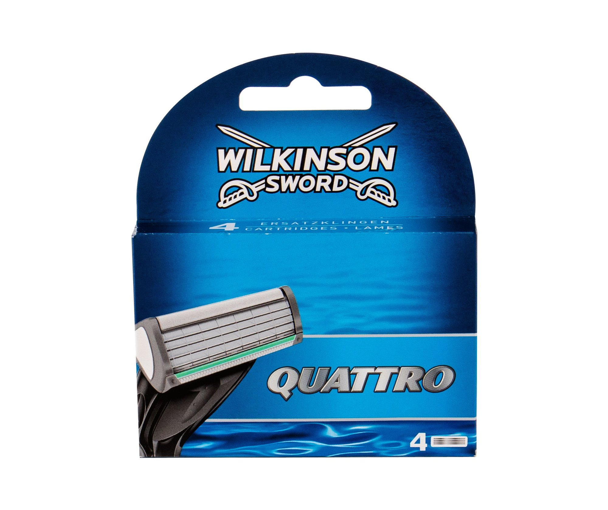 Wilkinson Sword Quattro Replacement blade 4ml