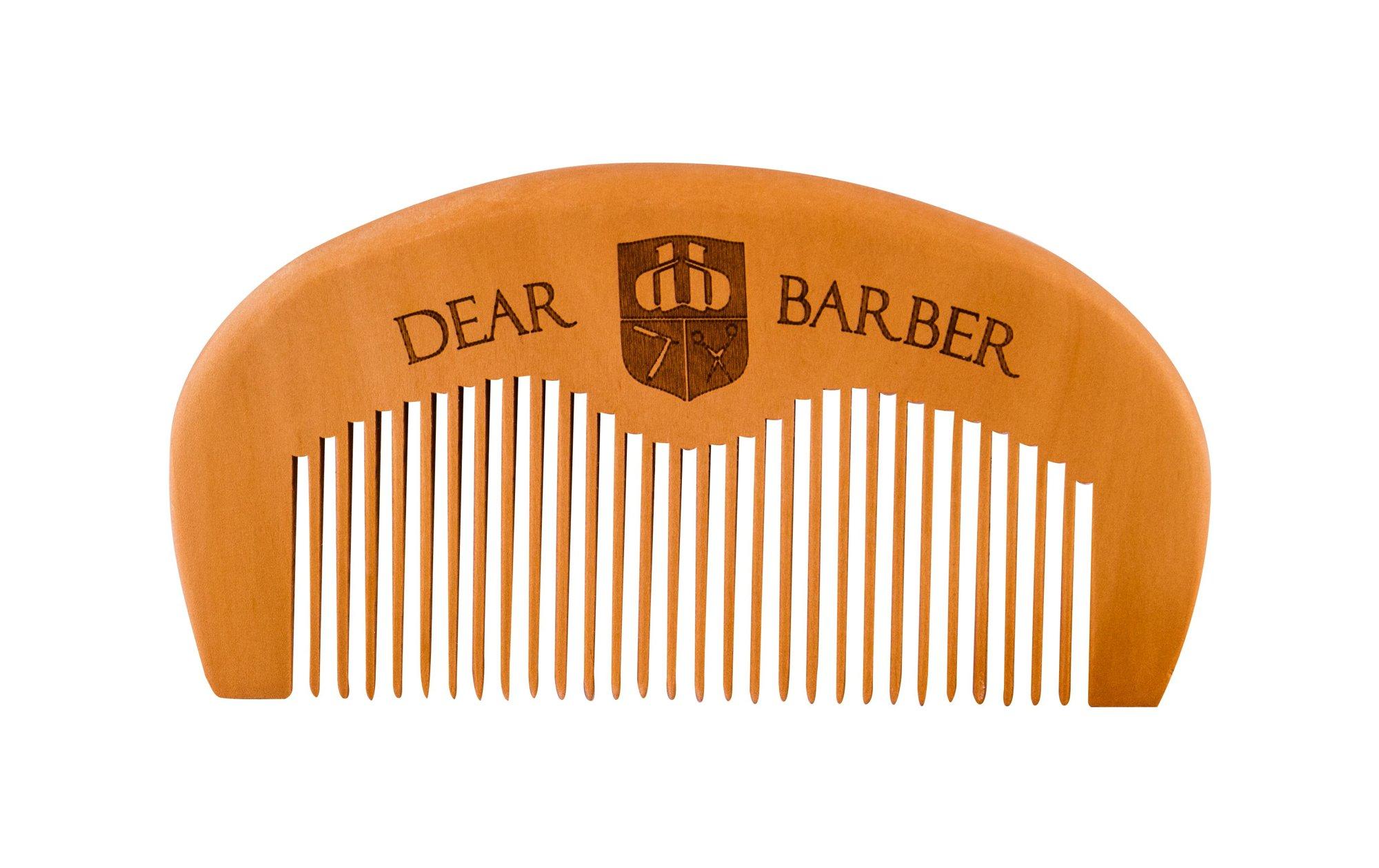 DEAR BARBER Beard Comb Beard Brush 1ml