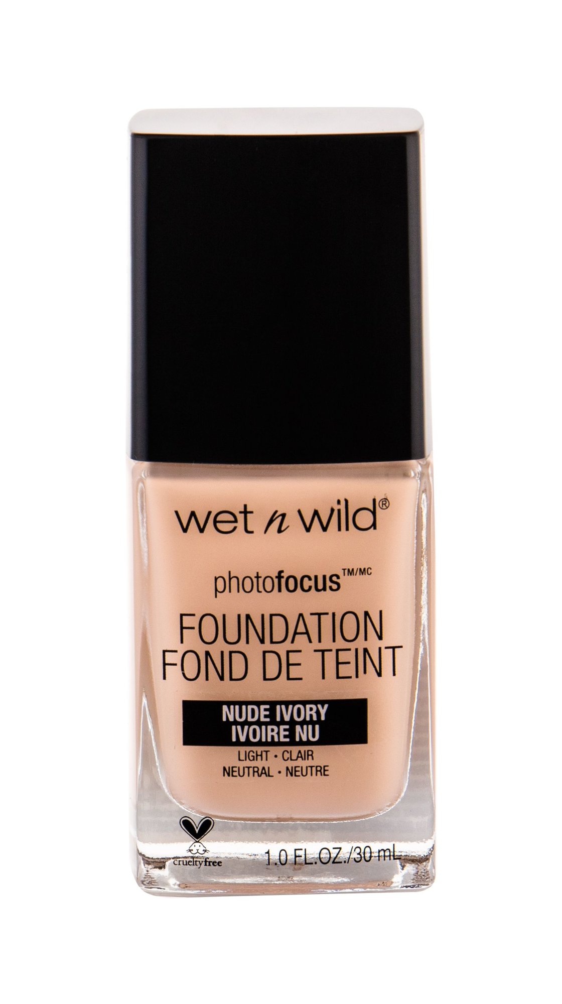 Wet n Wild Photo Focus Makeup 30ml Nude Ivory