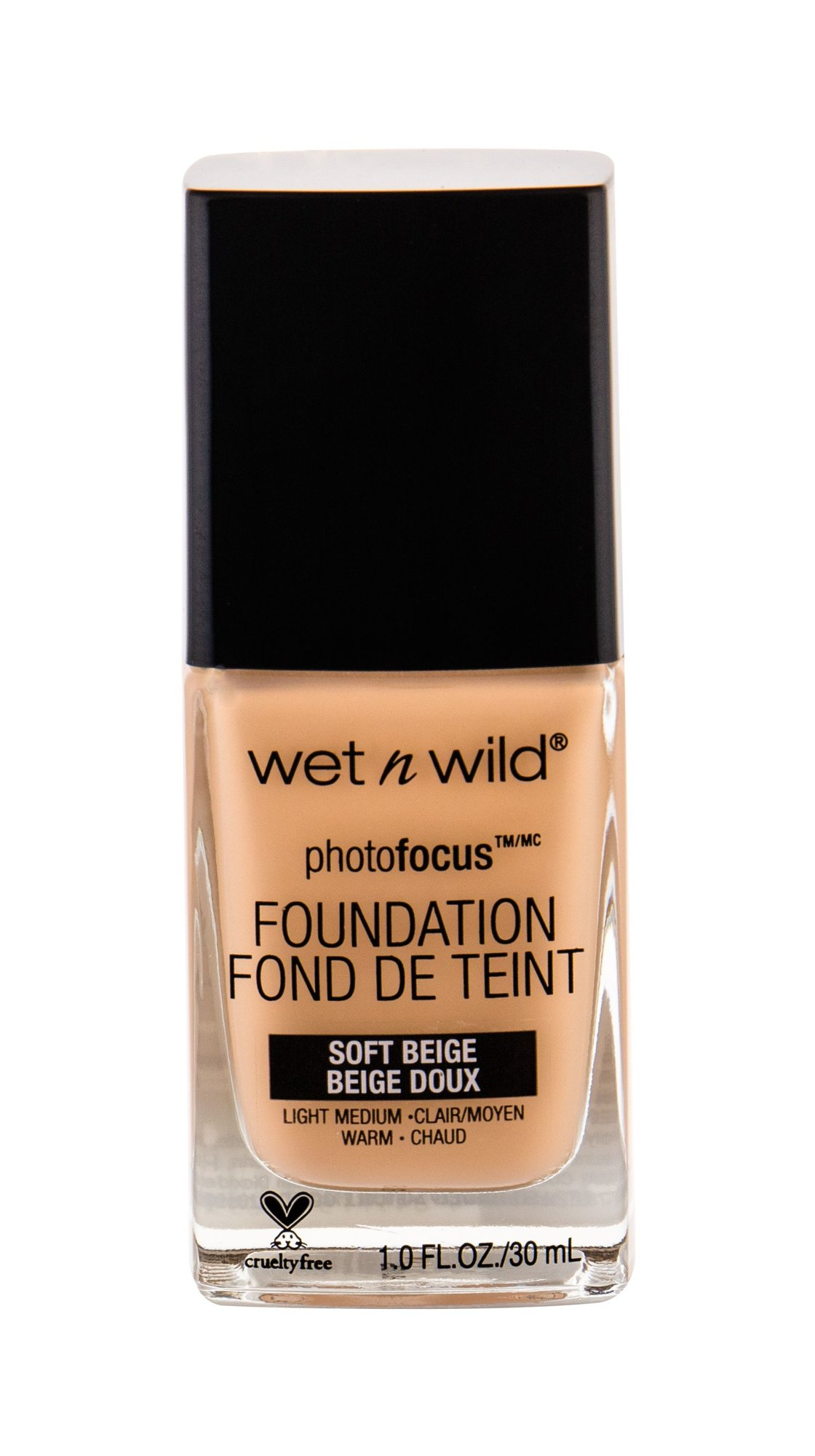 Wet n Wild Photo Focus Makeup 30ml Soft Beige
