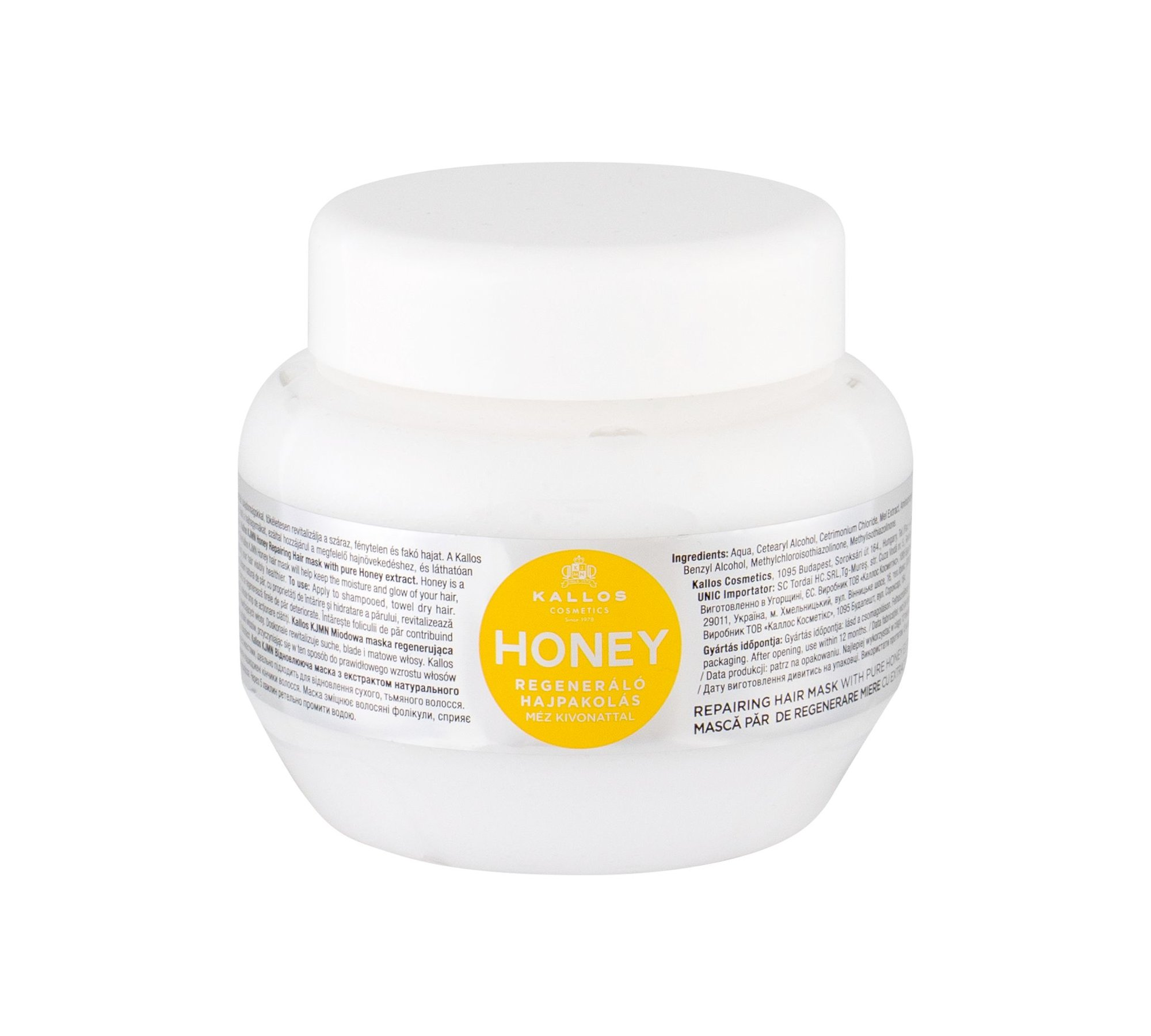 Kallos Cosmetics Honey Hair Mask 275ml