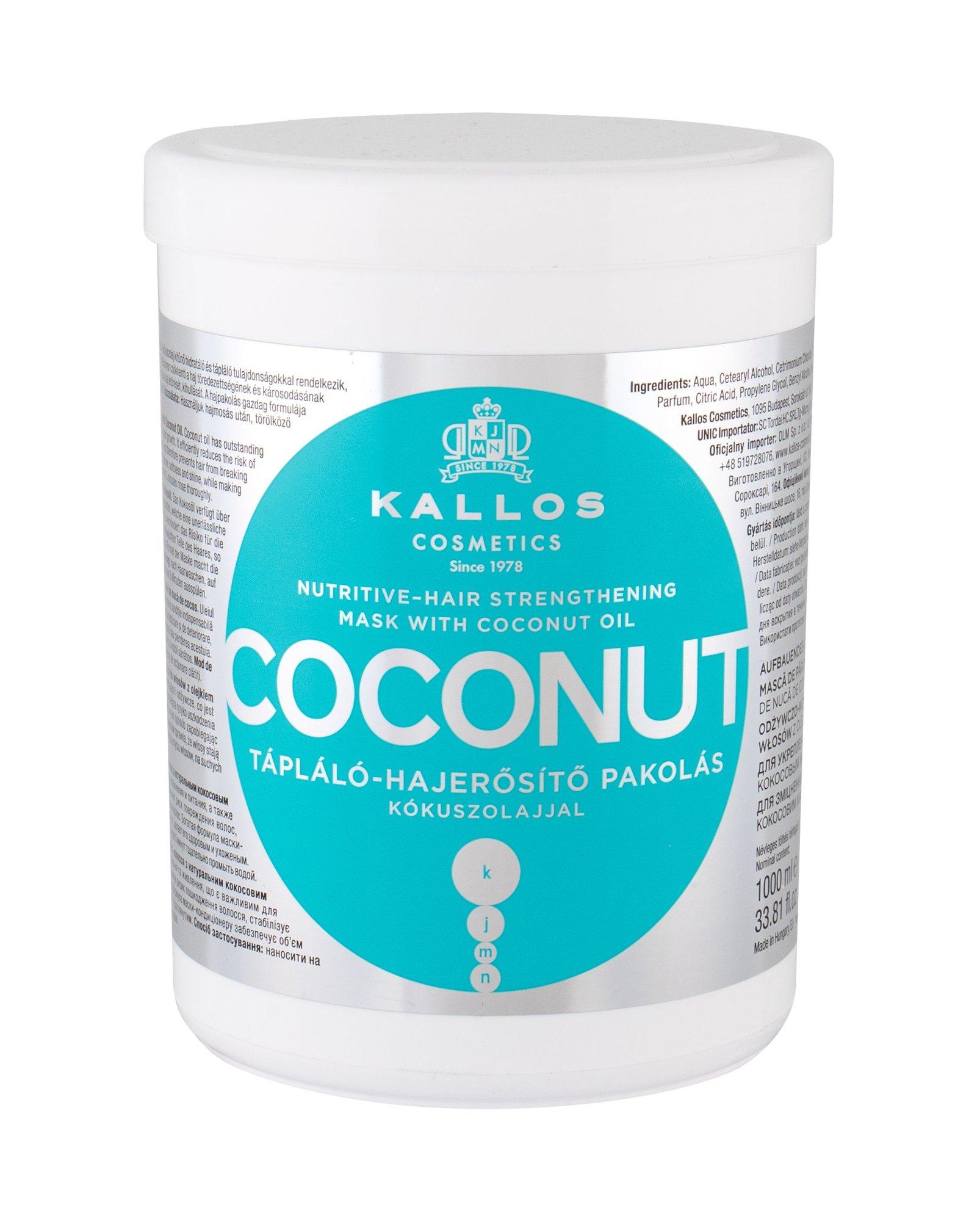 Kallos Cosmetics Coconut Hair Mask 1000ml