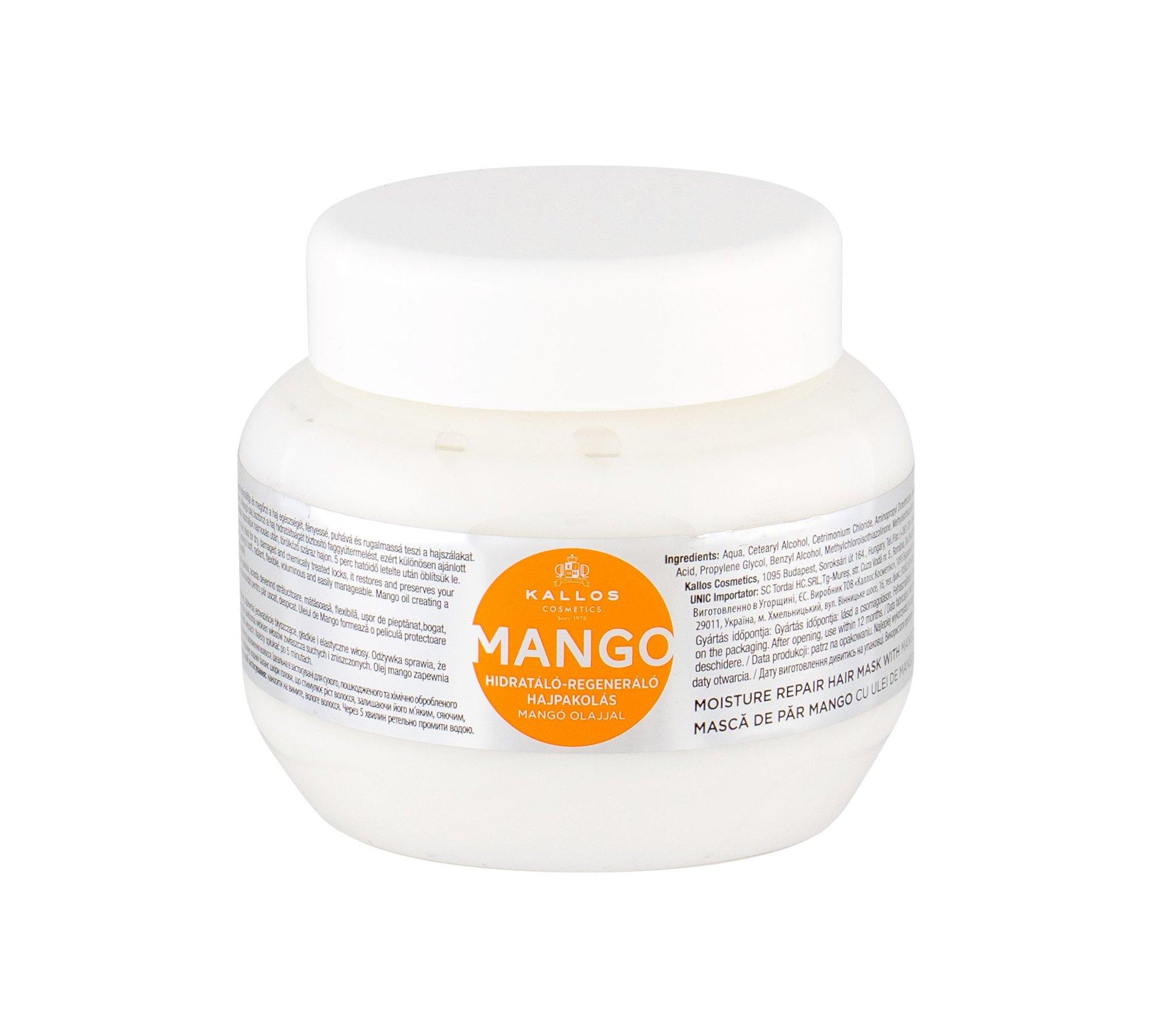 Kallos Cosmetics Mango Hair Mask 275ml