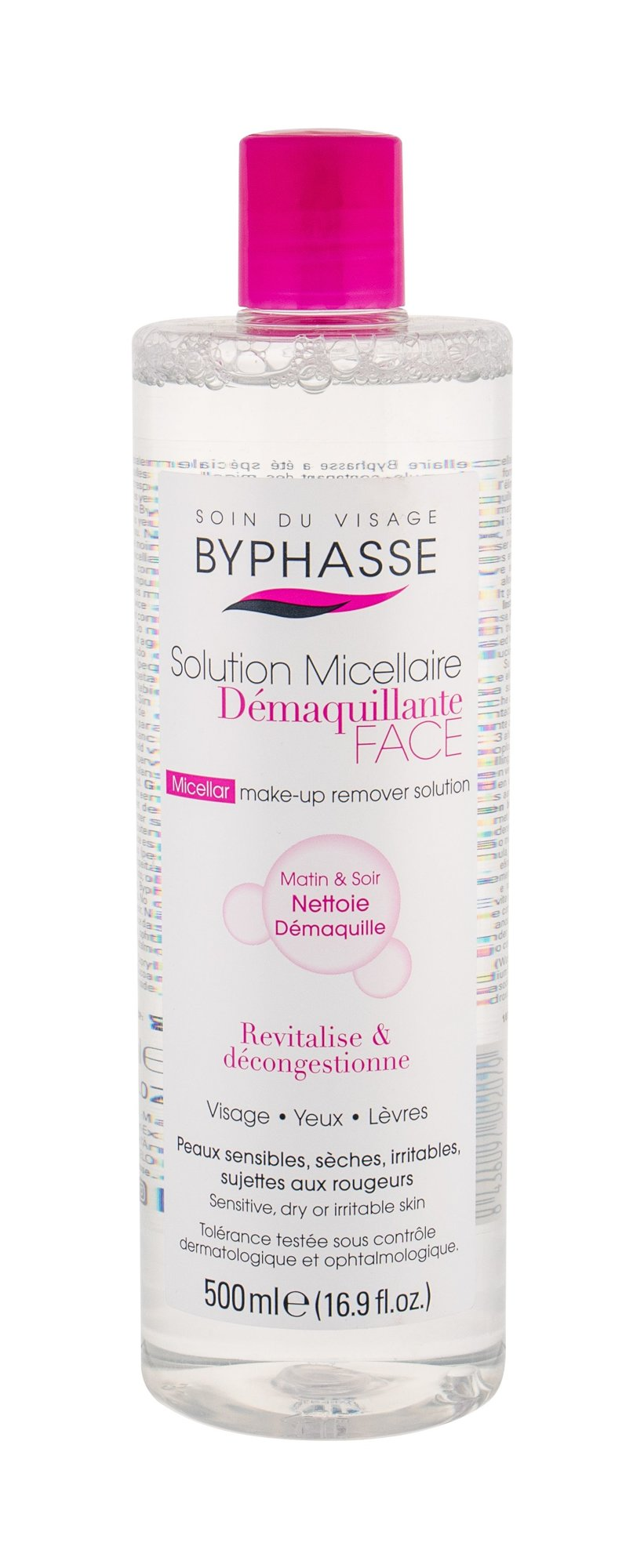 BYPHASSE Solution Micellaire Micellar Water 500ml