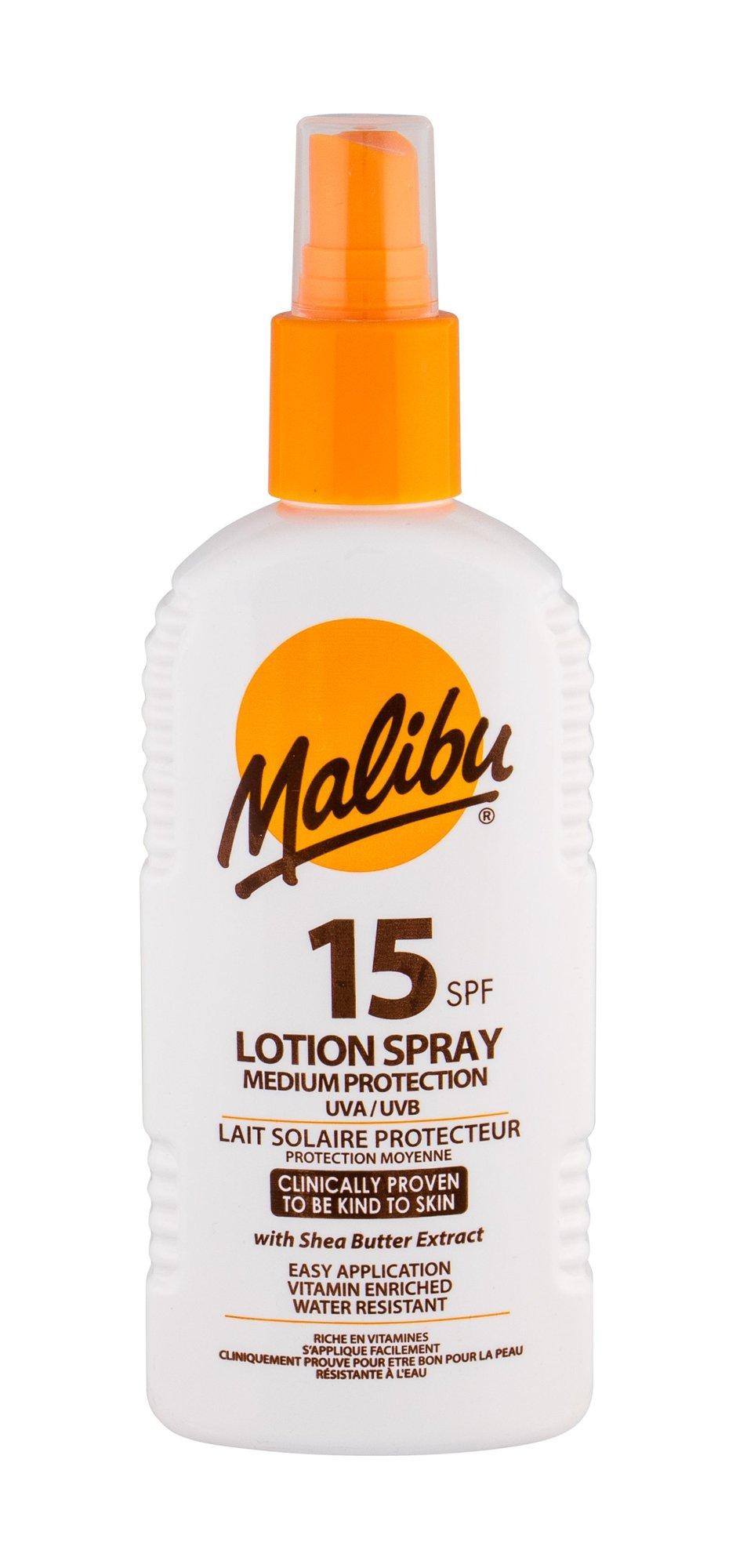 Malibu Lotion Spray Sun Body Lotion 200ml
