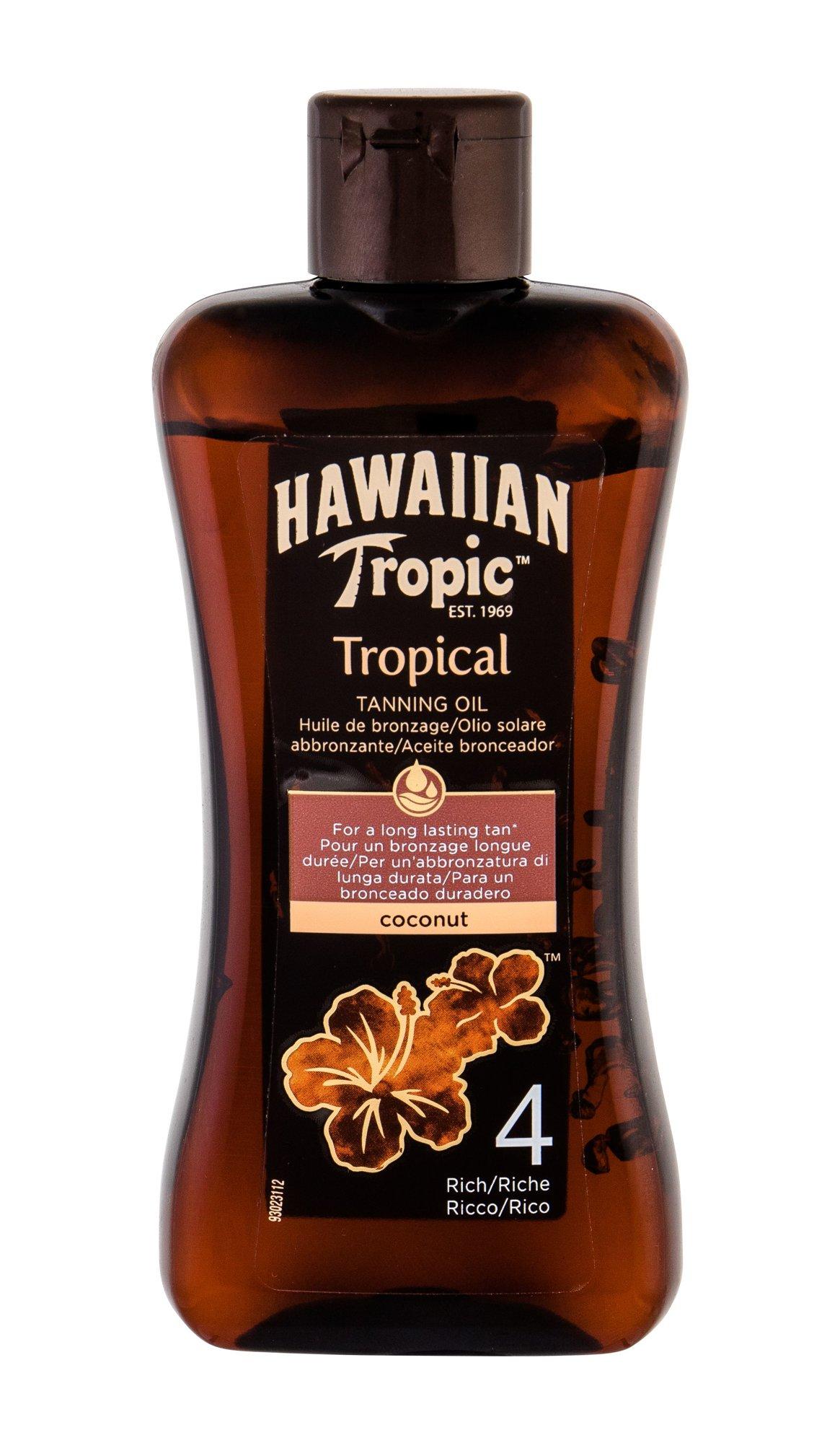 Hawaiian Tropic Tropical Tanning Oil After Sun Care 200ml