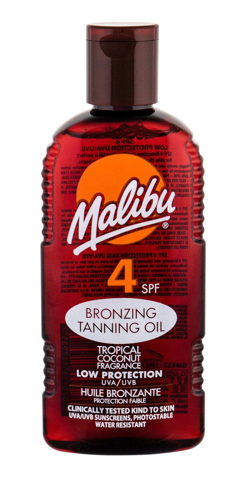 Malibu Bronzing Tanning Oil Sun Body Lotion 200ml
