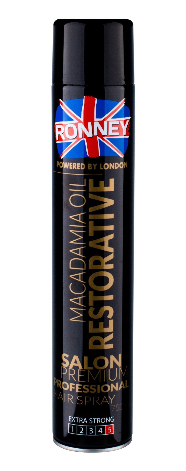 Ronney Salon Premium Professional Hair Spray 750ml  Macadamia Oil