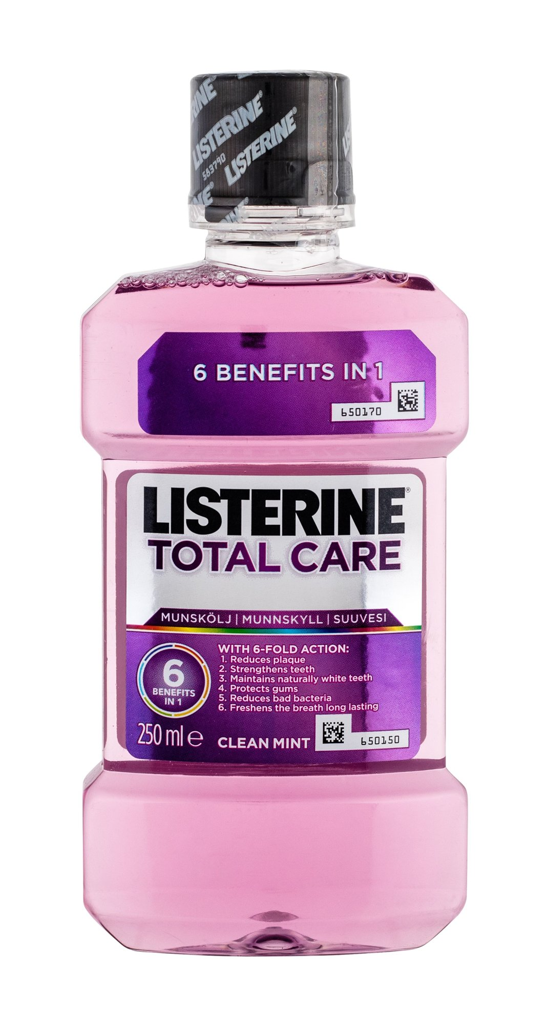 Listerine Mouthwash Mouthwash 250ml  Total Care