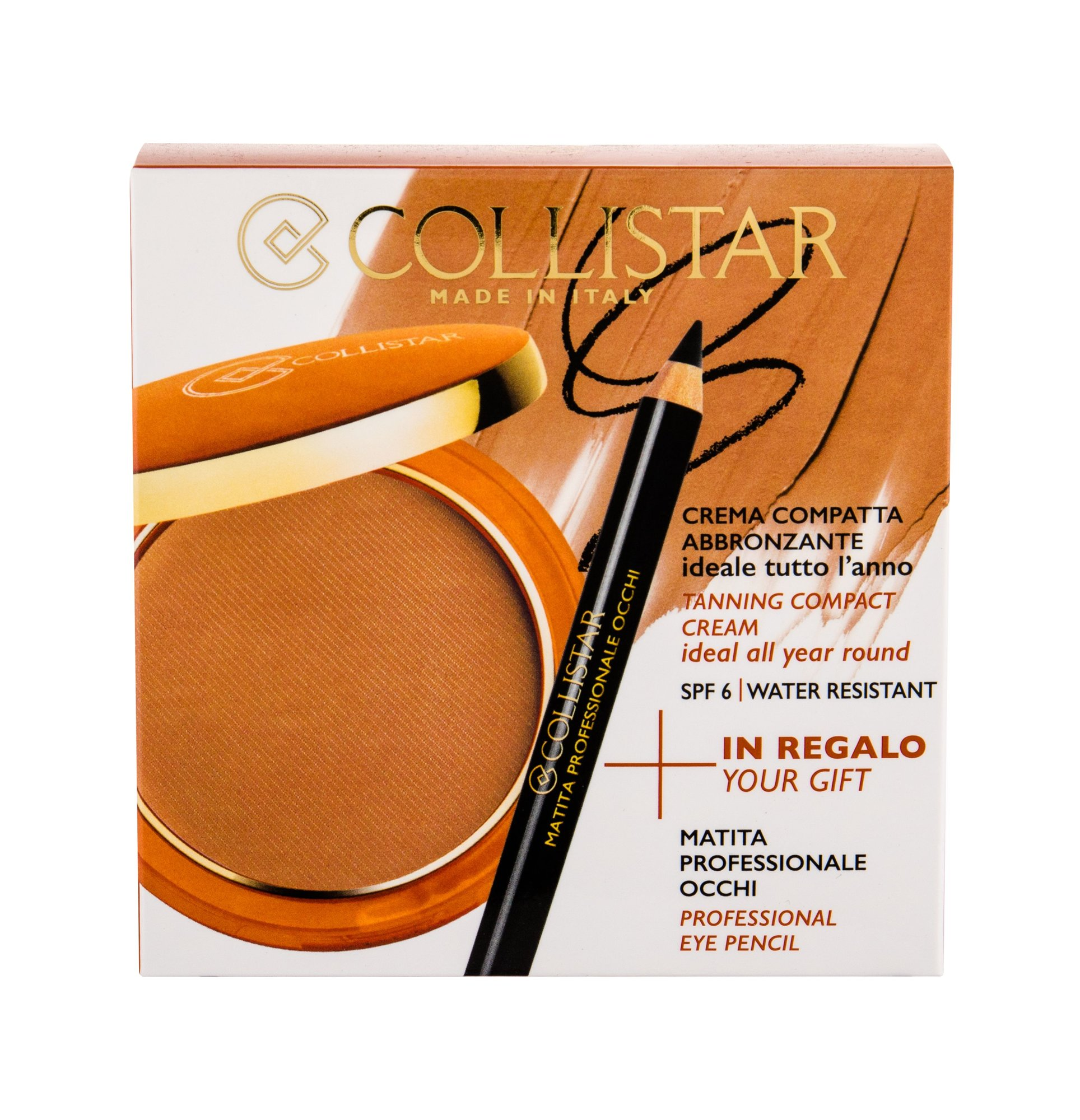 Collistar Tanning Compact Cream Powder 9ml 4 Caribbean