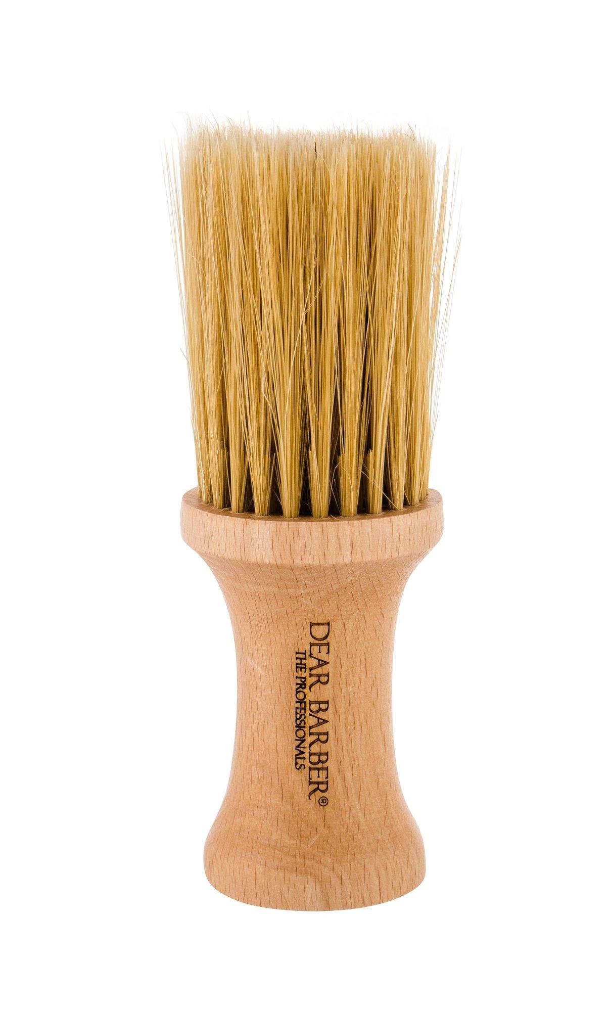 DEAR BARBER Brushes Beard Brush 1ml  Neck Brush With Horsehair