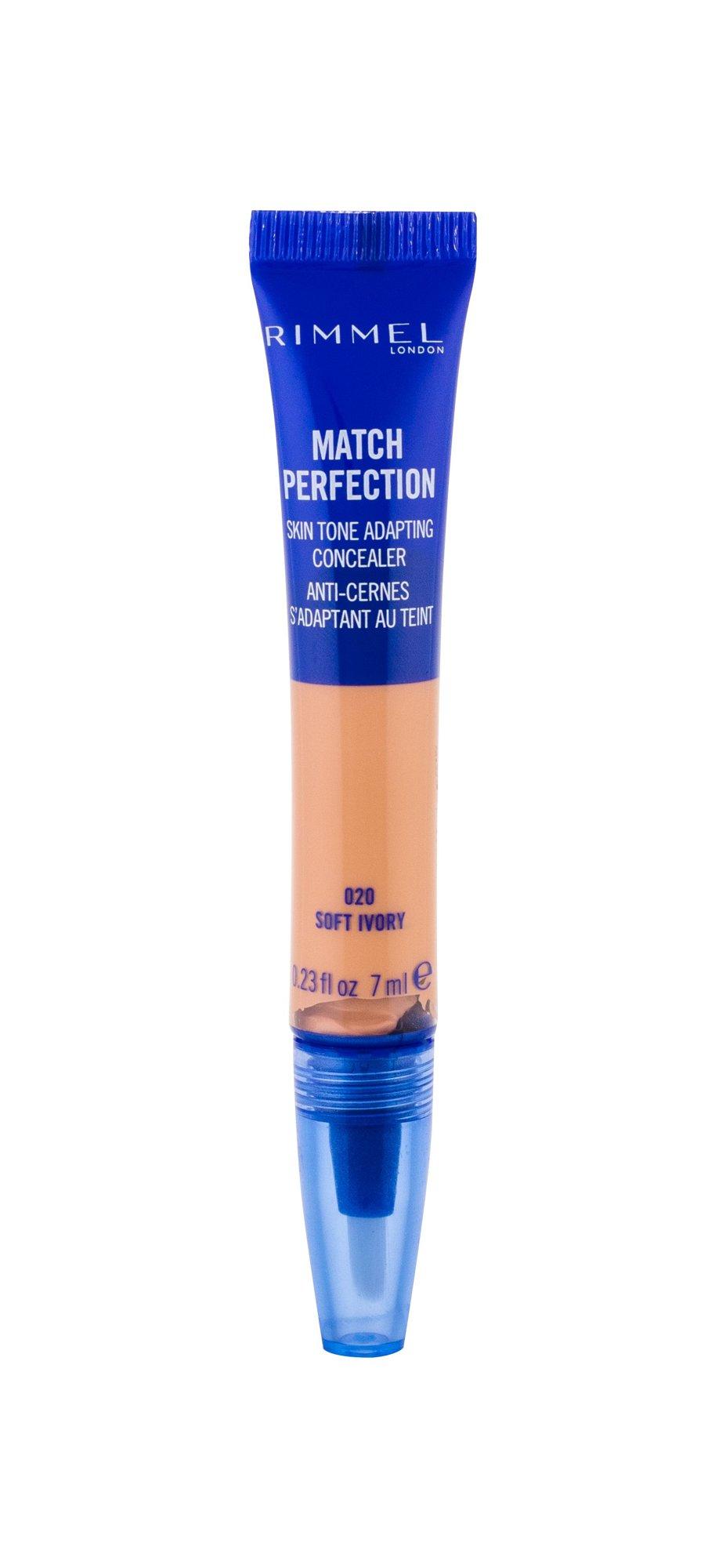 Rimmel London Match Perfection Corrector 7ml 020 Soft Ivory