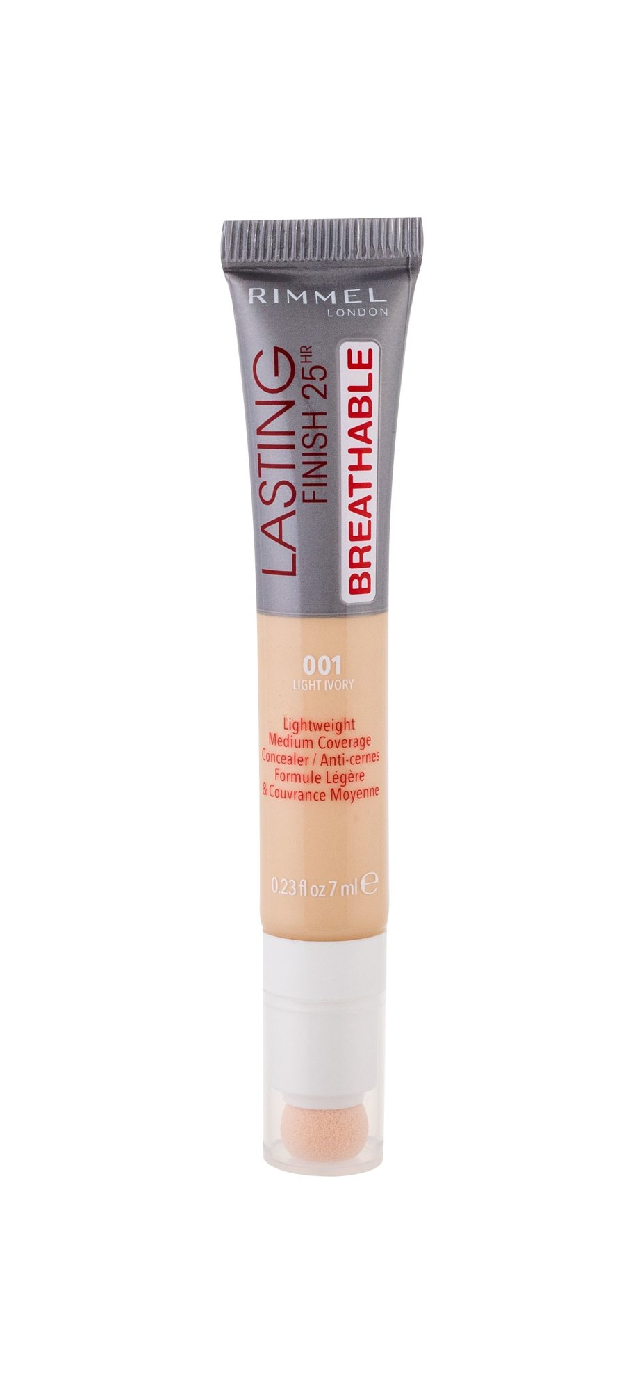 Rimmel London Lasting Finish Corrector 7ml 001 Light Ivory