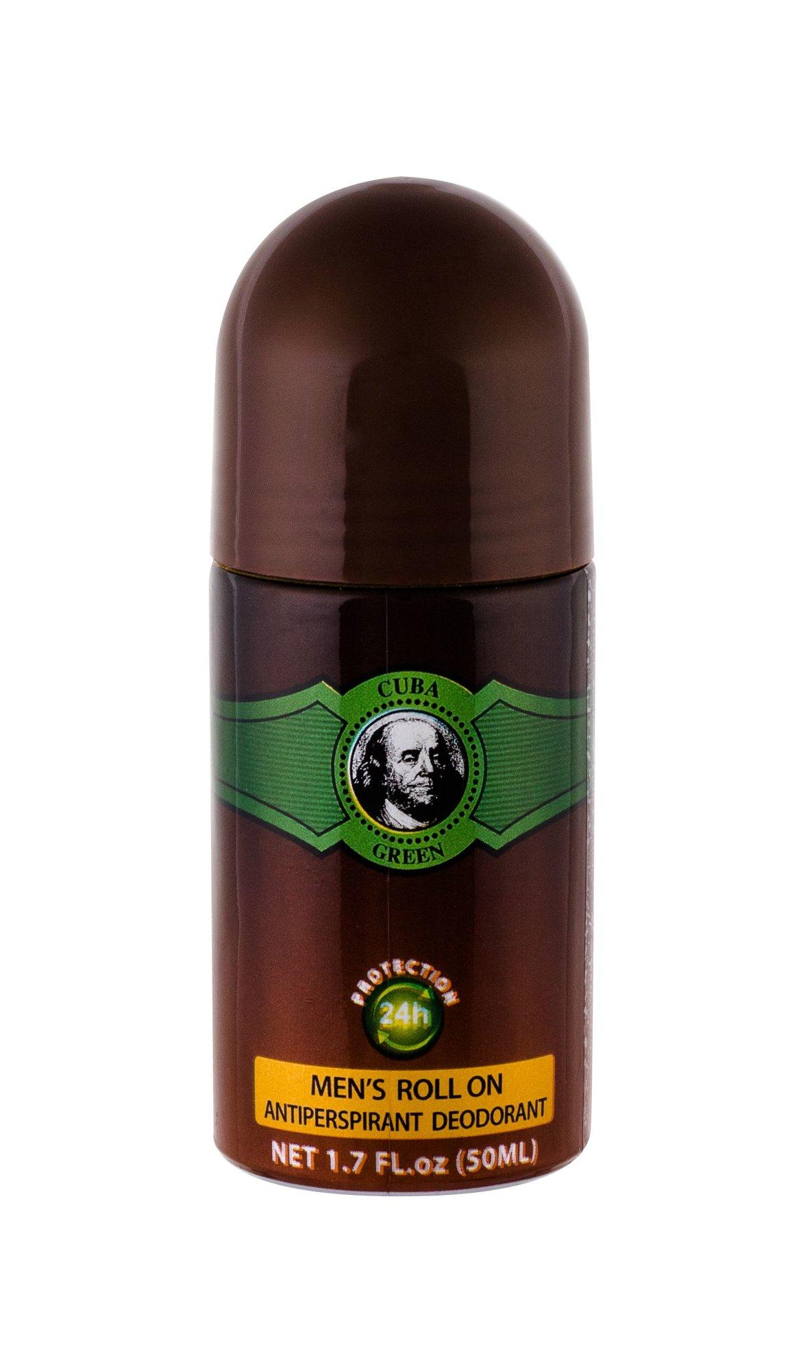 Cuba Green Deodorant 50ml