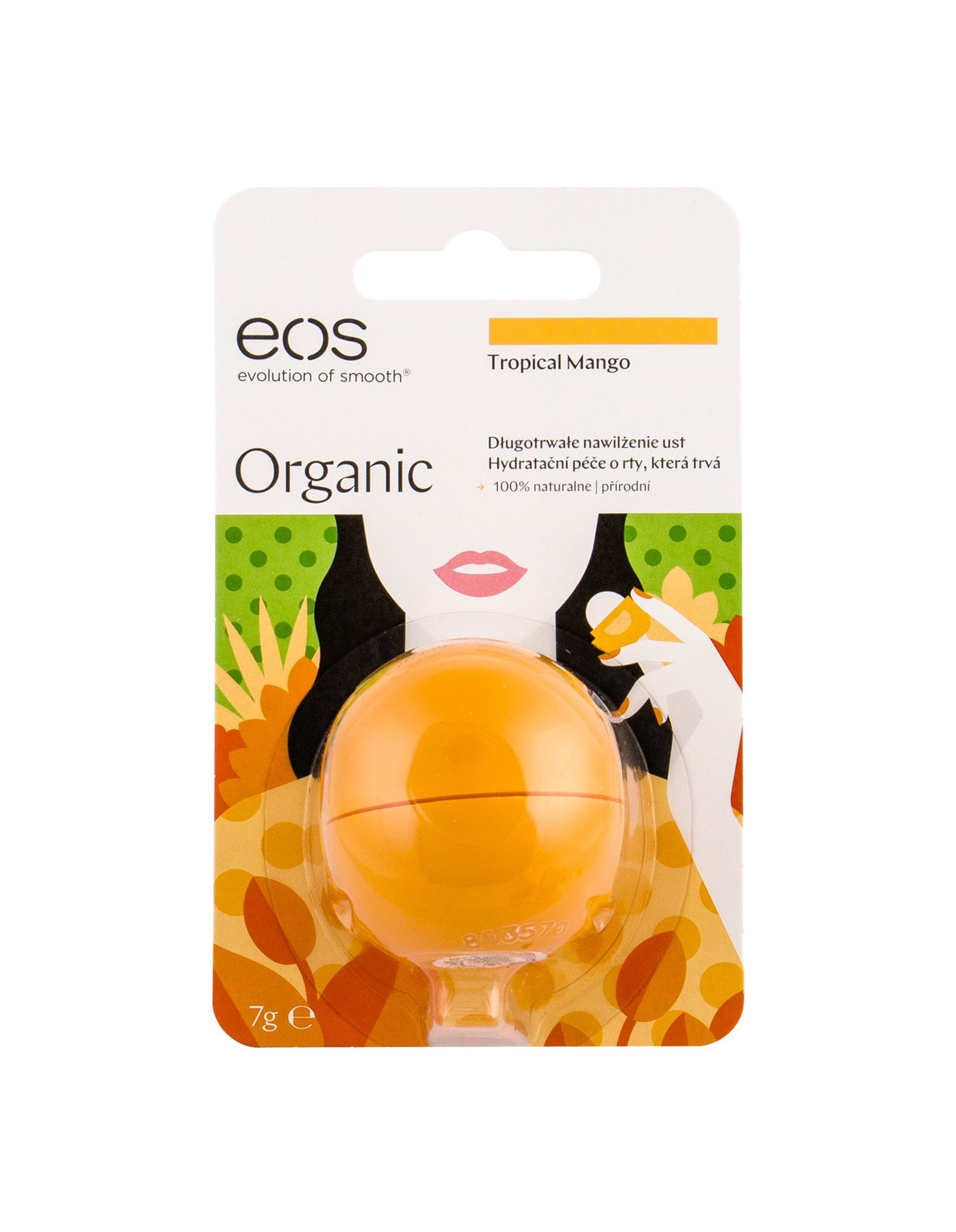 EOS Organic Lip Balm 7ml Tropical Mango