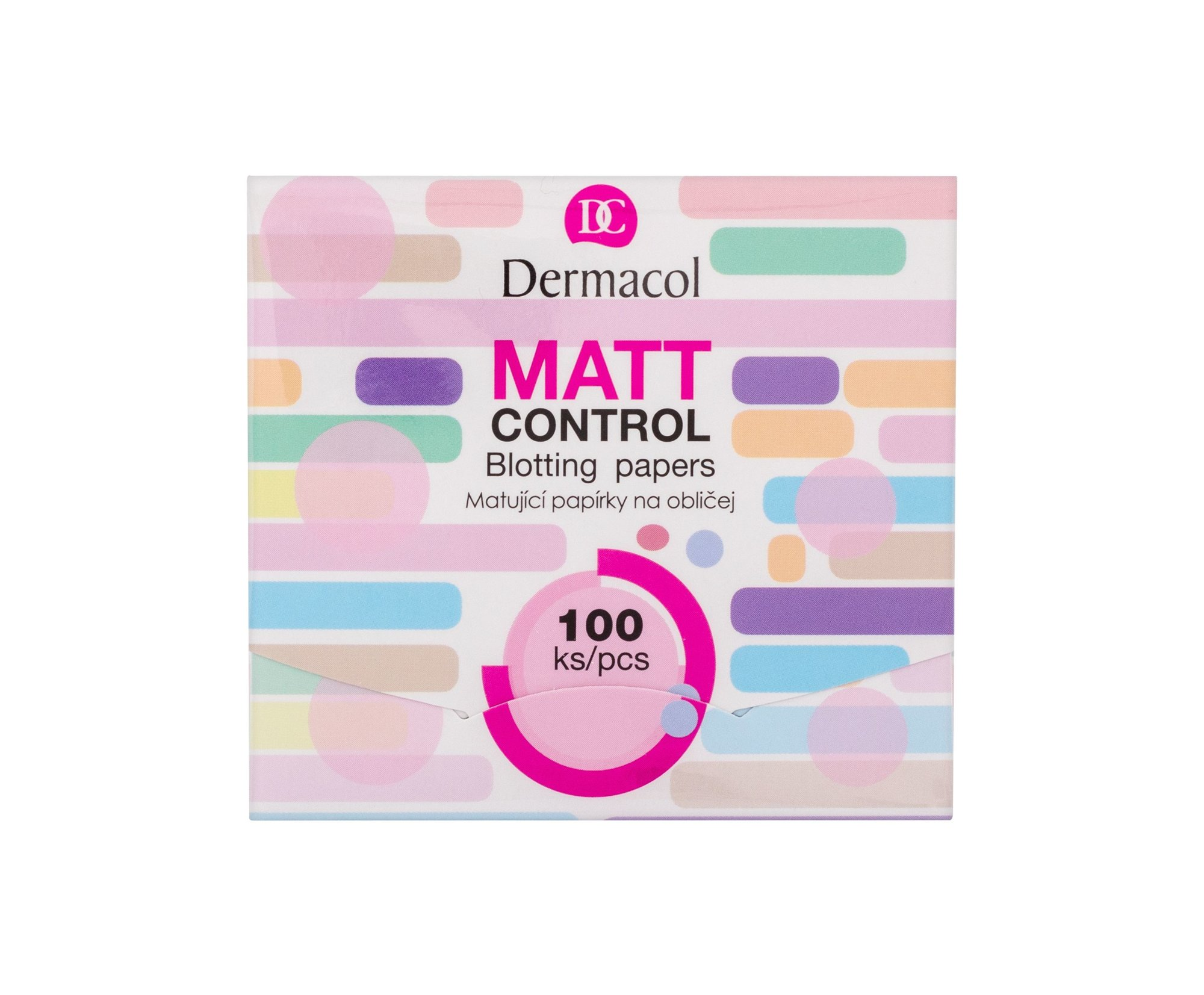 Dermacol Matt Control Cleansing Wipes 100ml