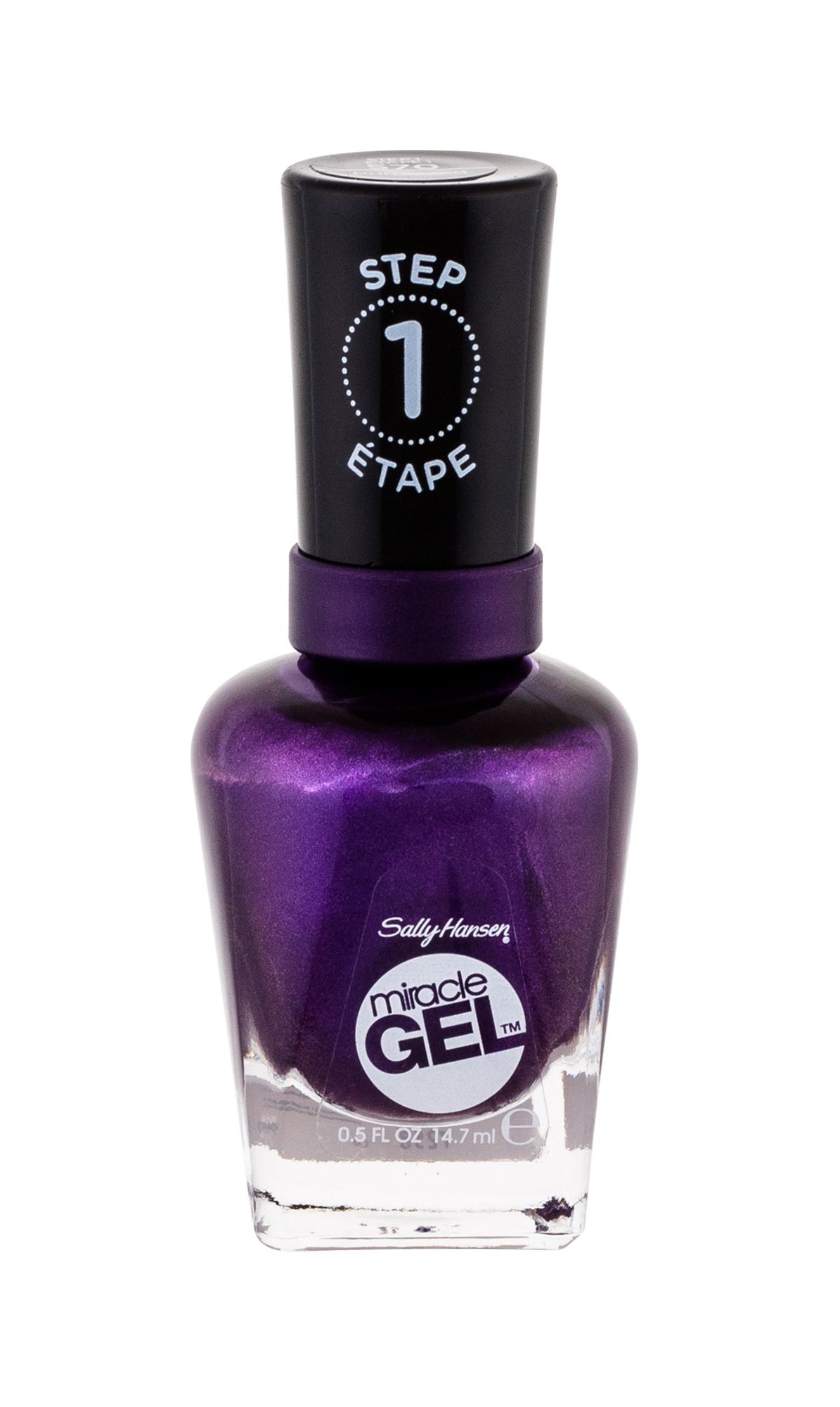 Sally Hansen Miracle Gel Nail Polish 14,7ml 570 Purplexed