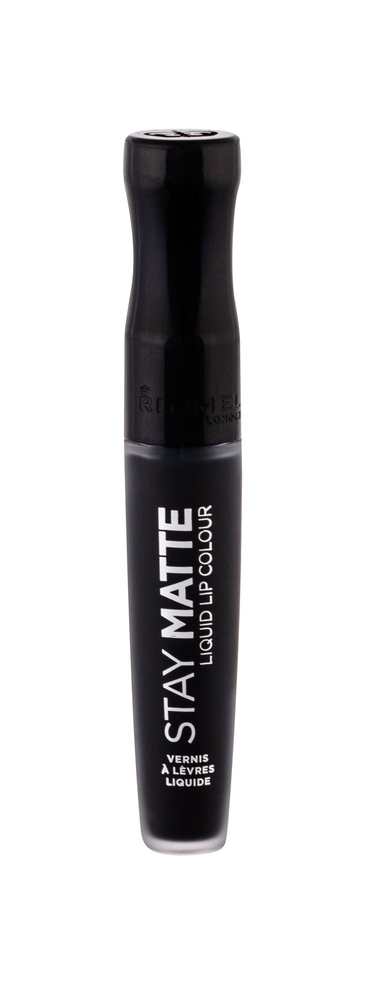 Rimmel London Stay Matte Lipstick 5,5ml 840 Pitch Black