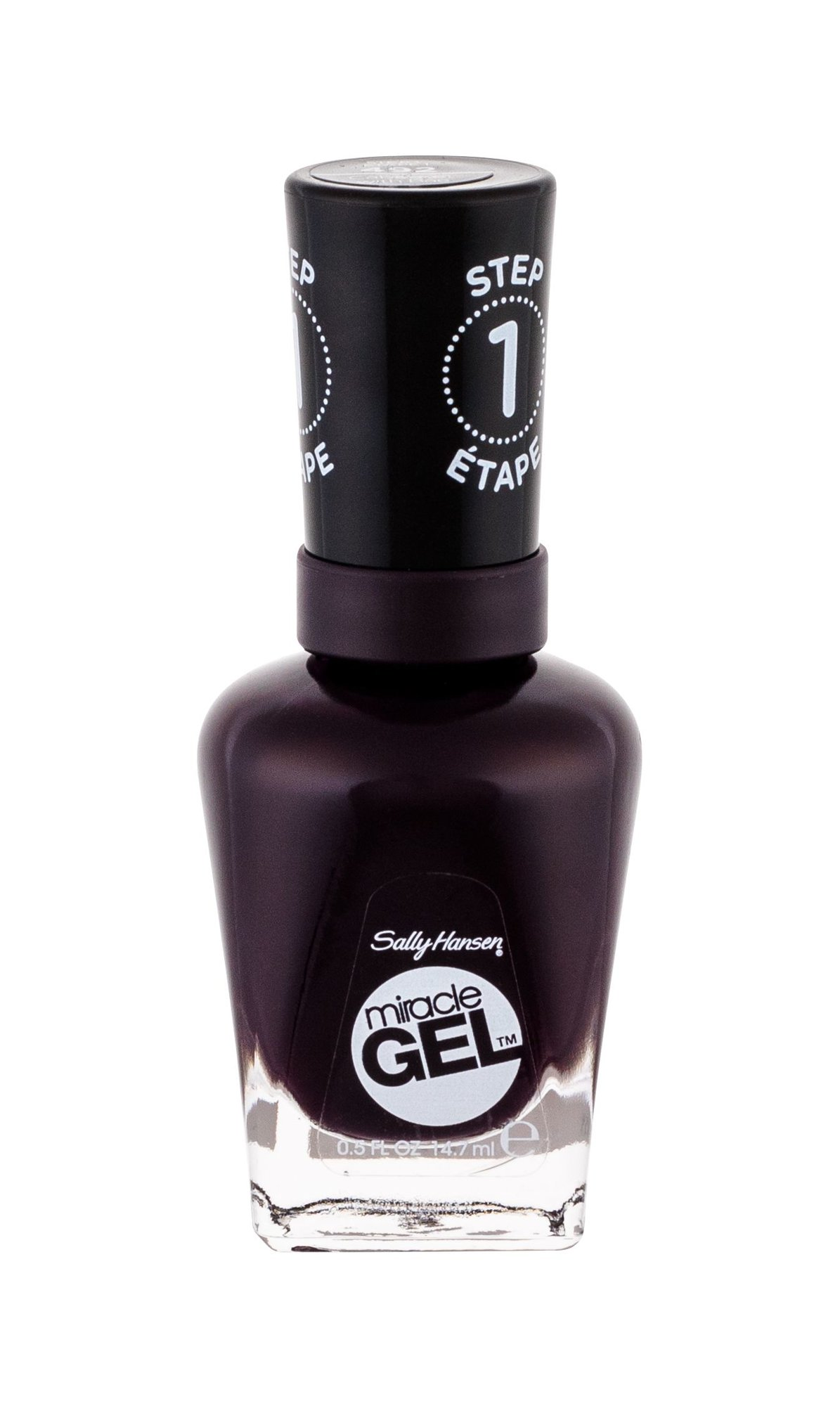 Sally Hansen Miracle Gel Nail Polish 14,7ml 492 Cabernet With Bae