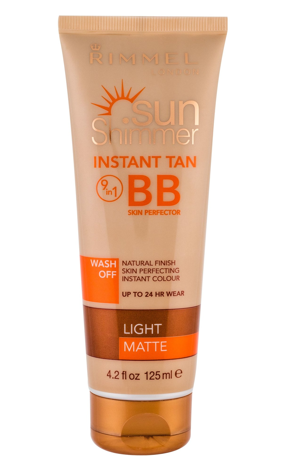 Rimmel London Sun Shimmer BB Cream 125ml Light Matte