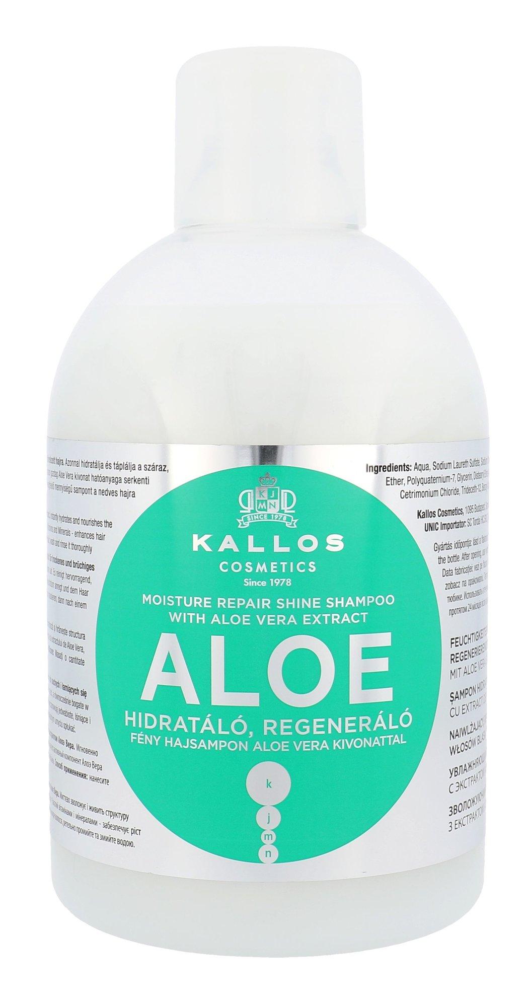 Kallos Cosmetics Aloe Vera Shampoo 1000ml