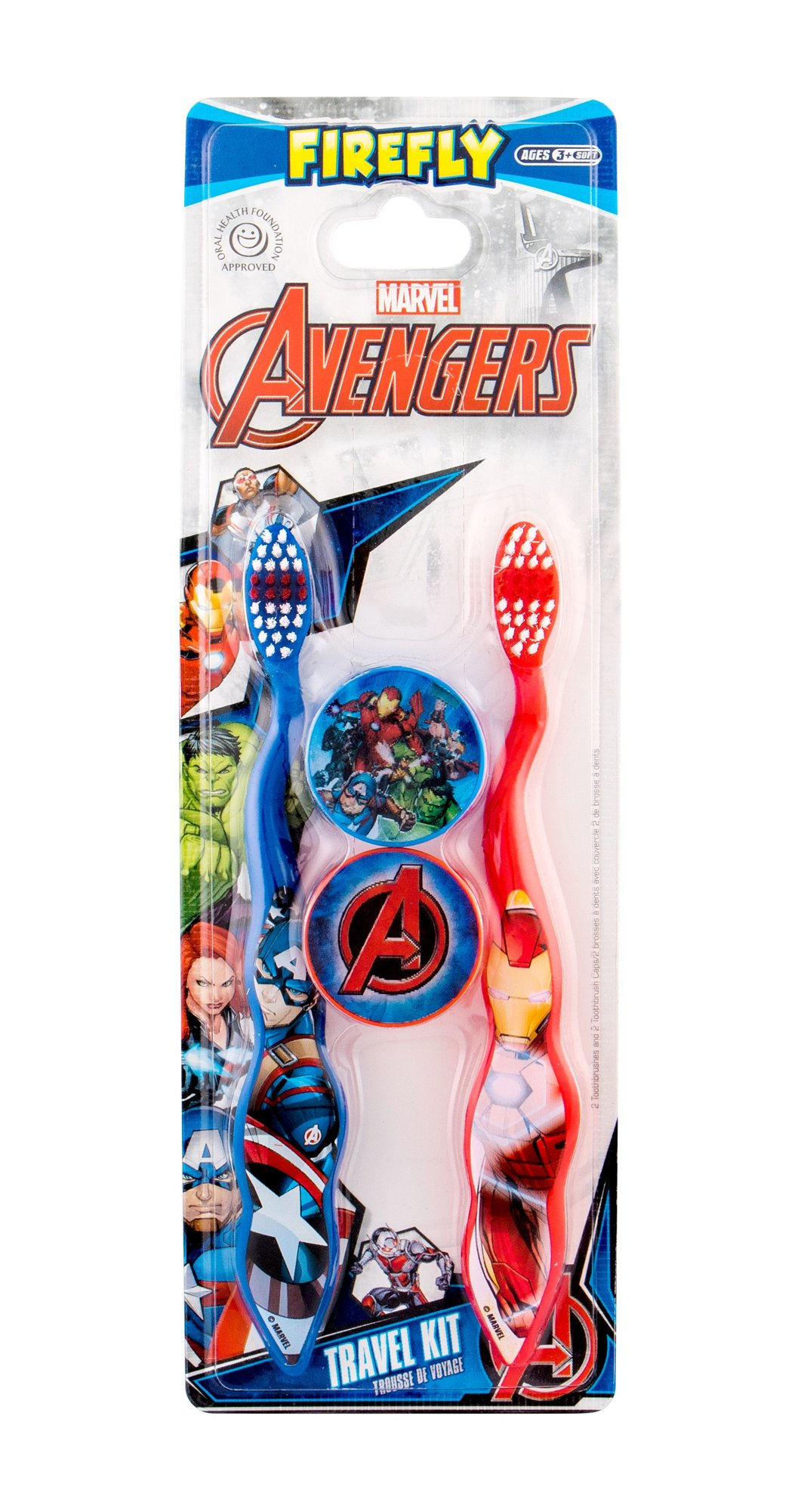 Marvel Avengers Toothbrush Toothbrush 1ml