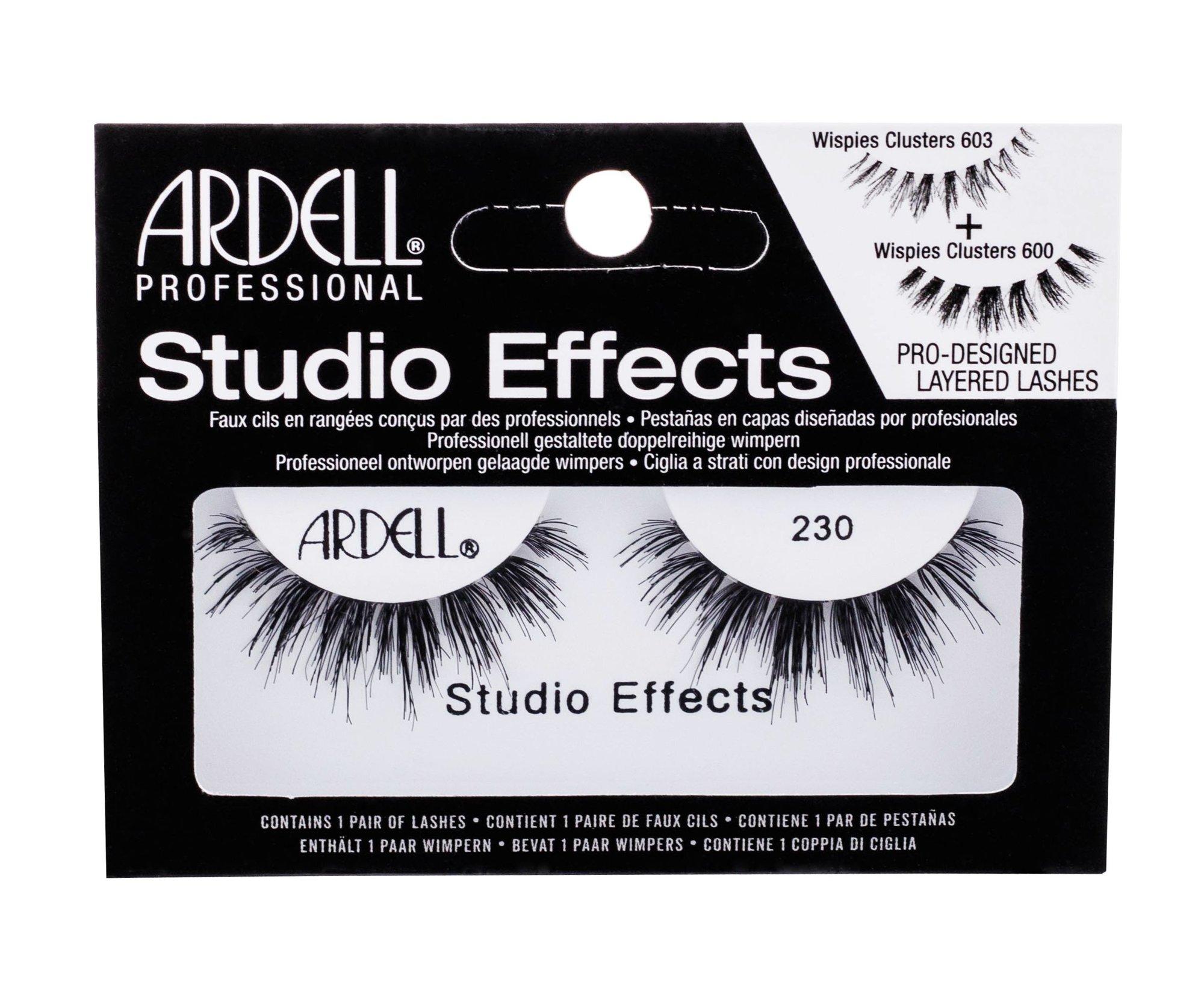 Ardell Studio Effects False Eyelashes 1ml Black