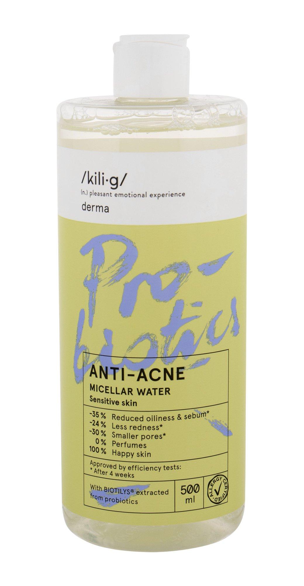 kili·g derma Micellar Water 500ml  ANTI-ACNE