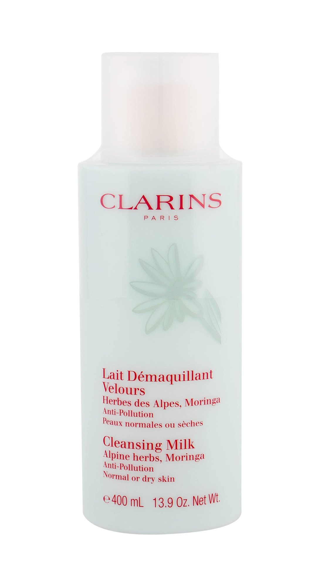 Clarins Anti-Pollution Cleansing Milk With Alpine Herbs Cleansing Milk 400ml