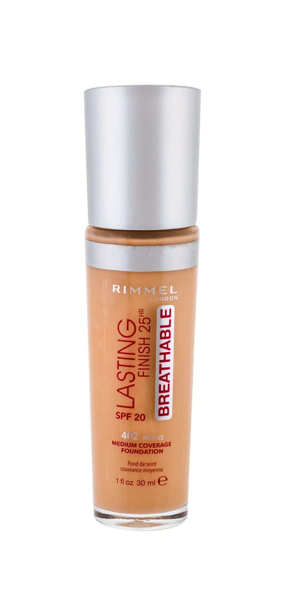Rimmel London Lasting Finish Makeup 30ml 402 Bronze