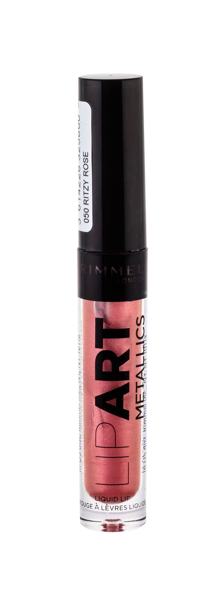 Rimmel London Lip Art Lip Gloss 2ml 050 Ritzy Rose