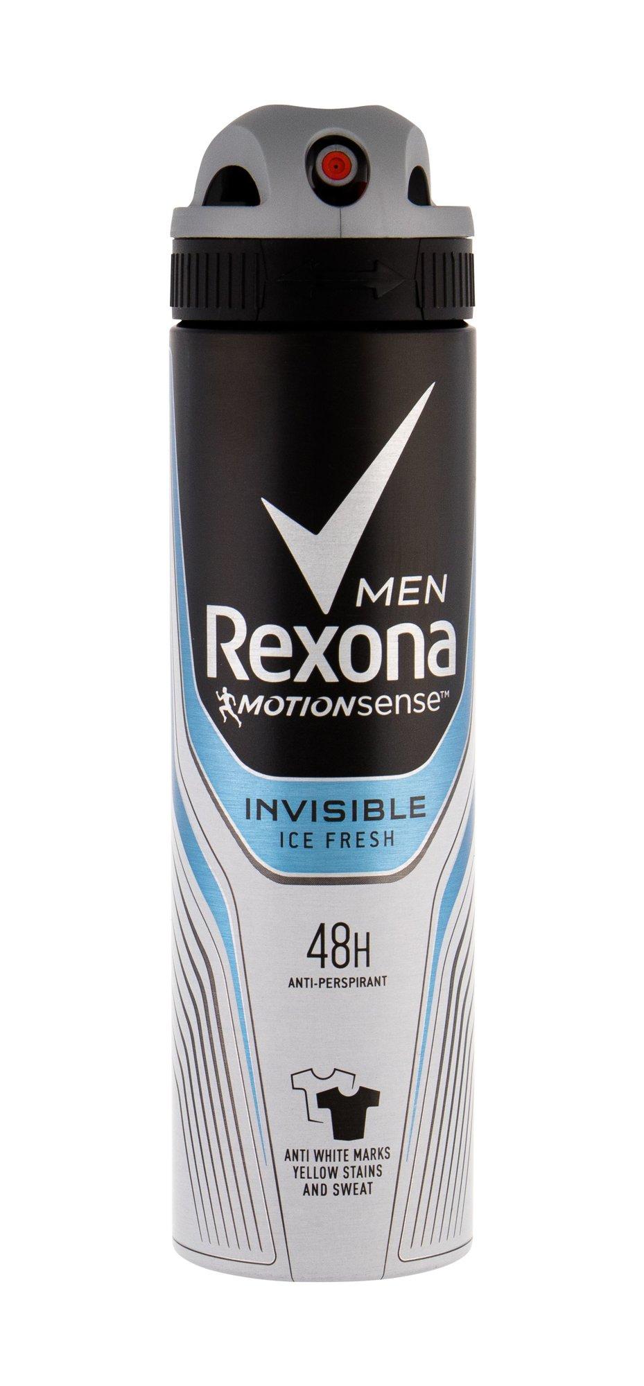 Rexona Men Antiperspirant 150ml  Invisible Ice Fresh