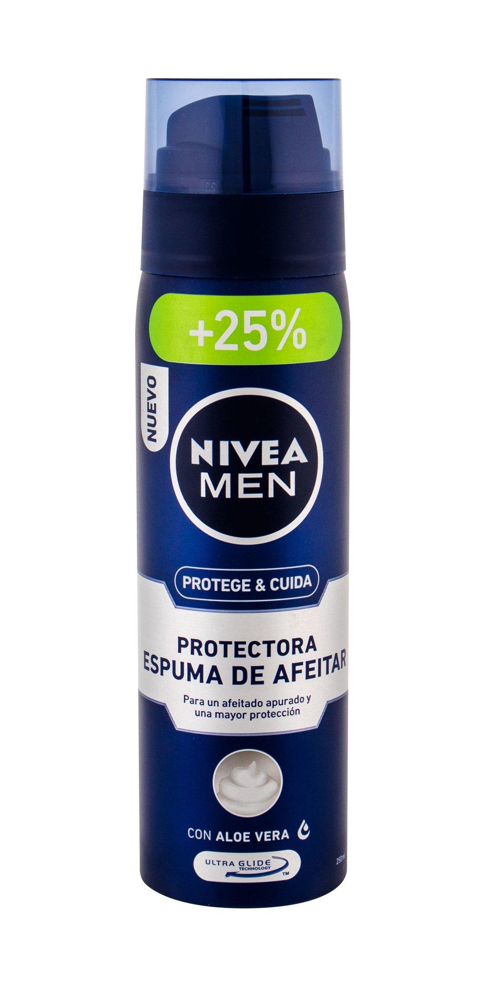 Nivea Men Protect & Care Shaving Foam 250ml