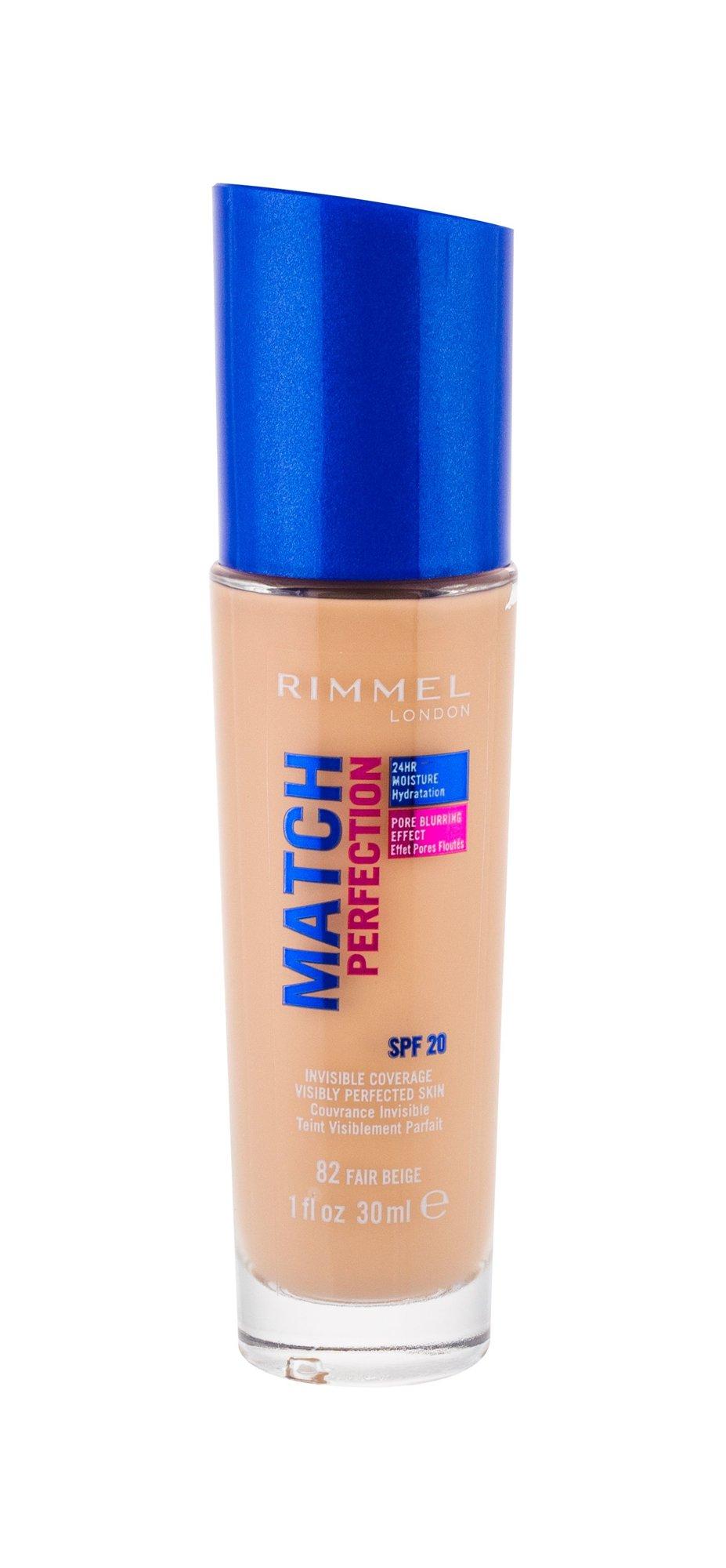 Rimmel London Match Perfection Makeup 30ml 82 Fair Beige