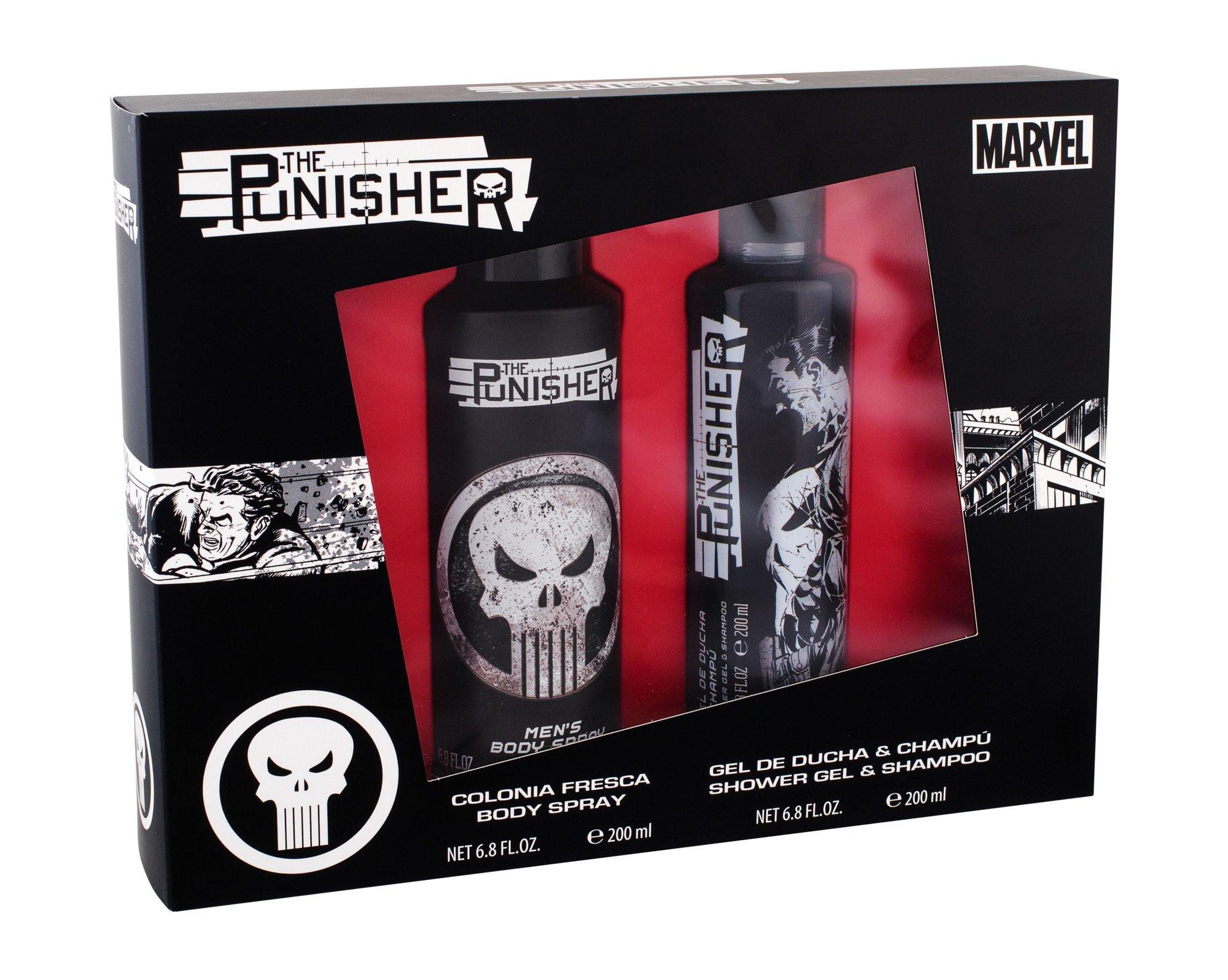 Marvel The Punisher Shower Gel 200ml